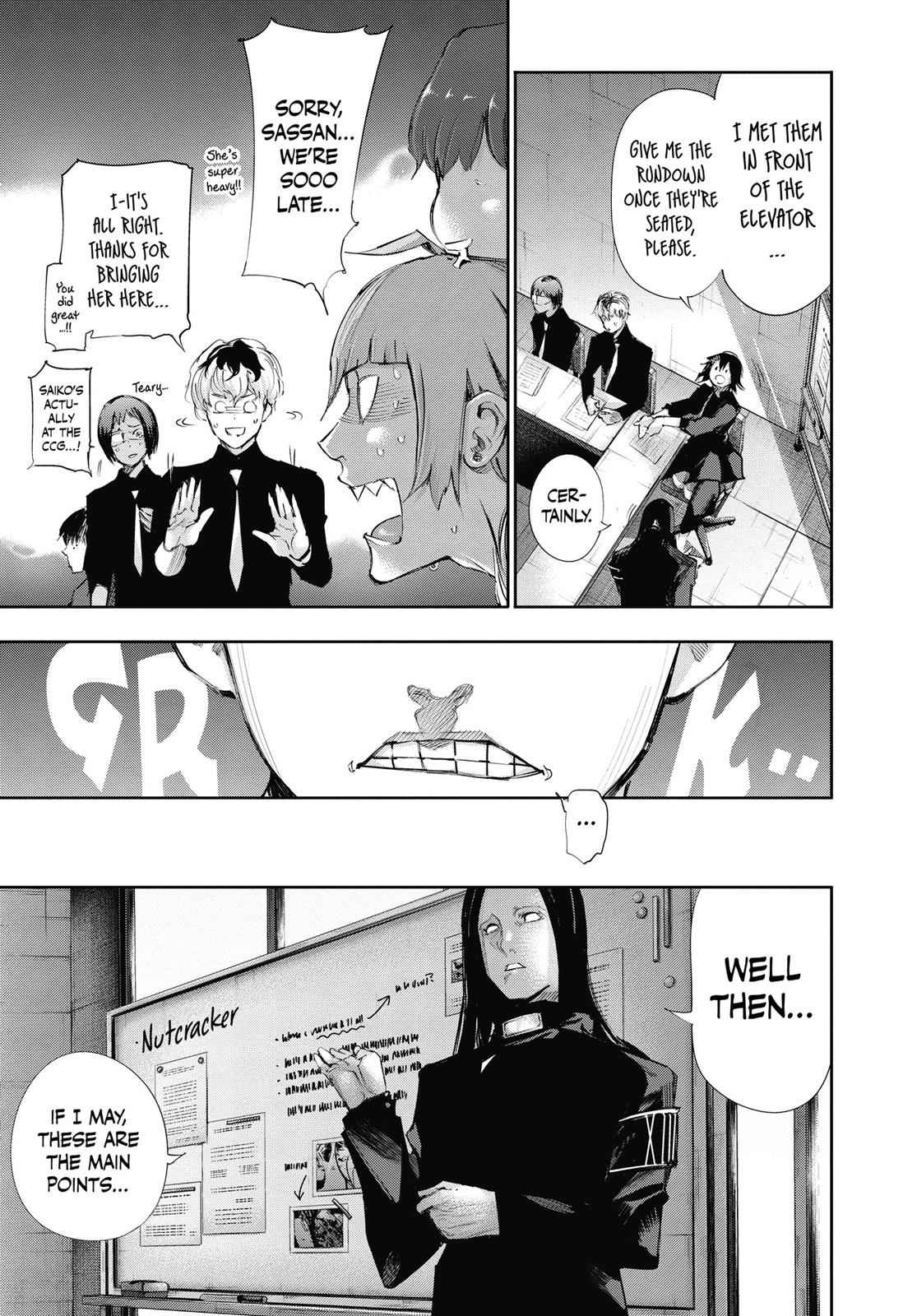 Tokyo Ghoul:re Chapter 11 Page 5
