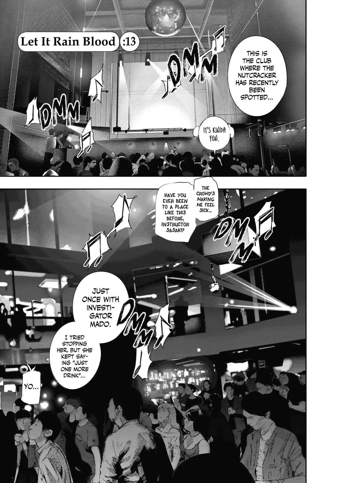 Tokyo Ghoul:re Chapter 13 Page 1