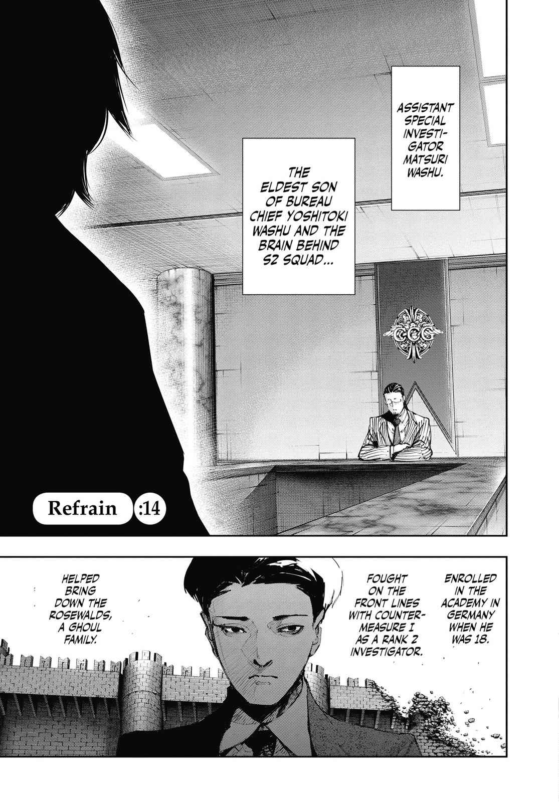 Tokyo Ghoul:re Chapter 14 Page 1