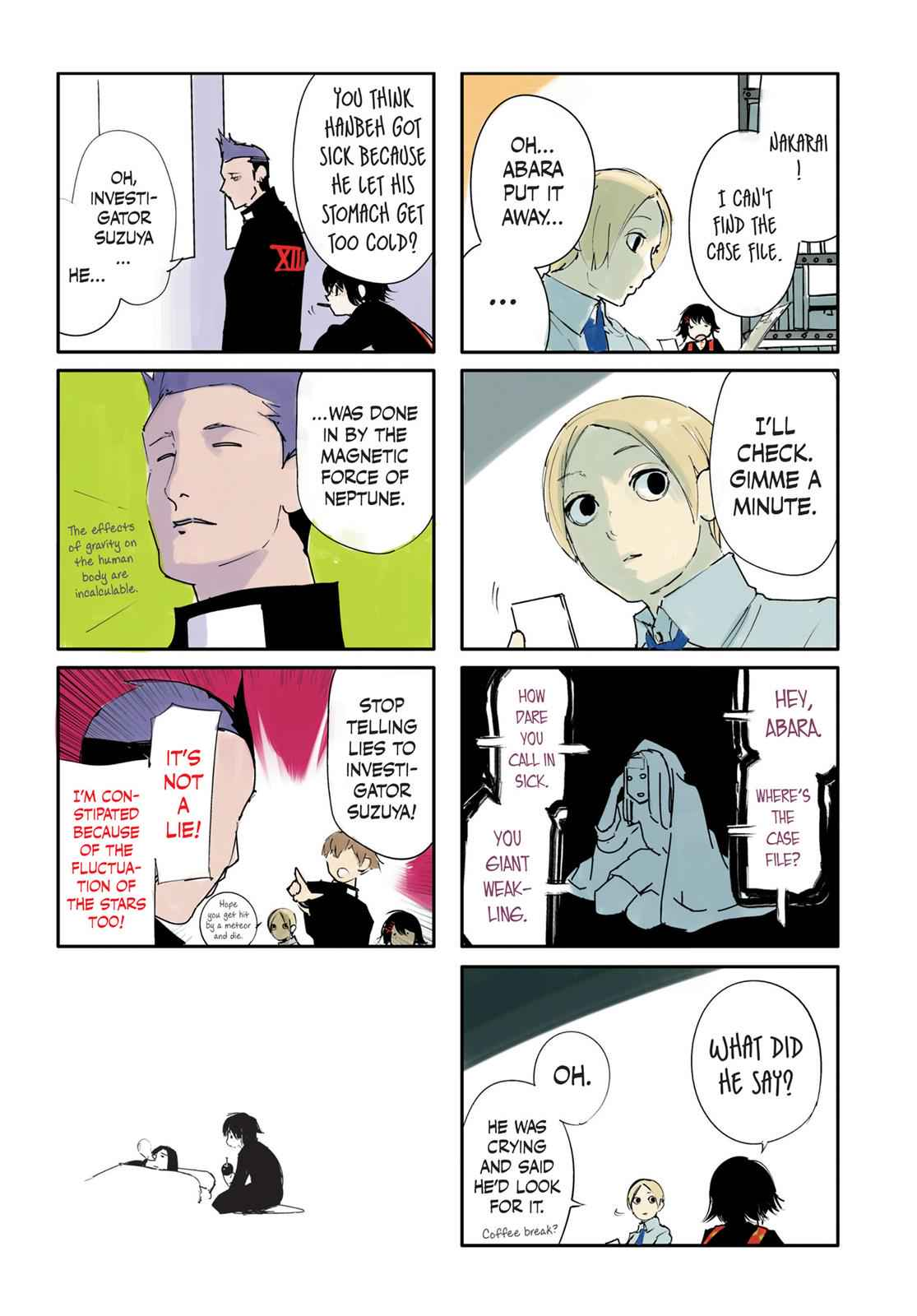 Tokyo Ghoul:re Chapter 21 Page 4