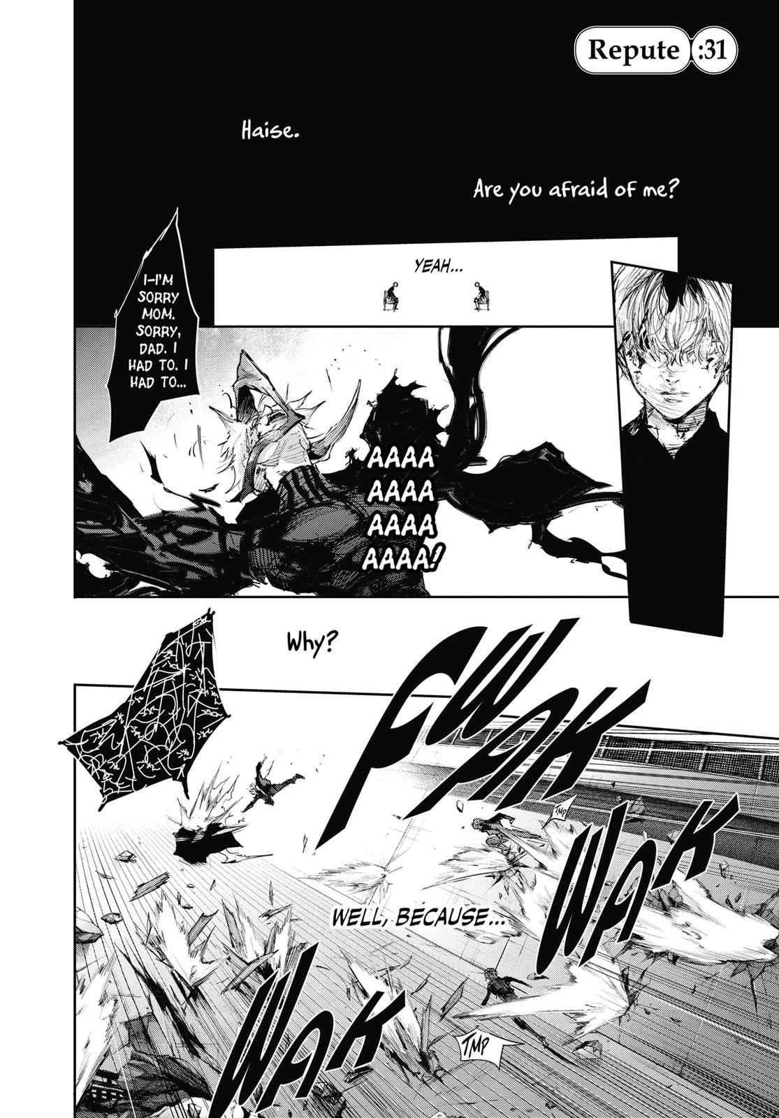 Tokyo Ghoul:re Chapter 31 Page 1