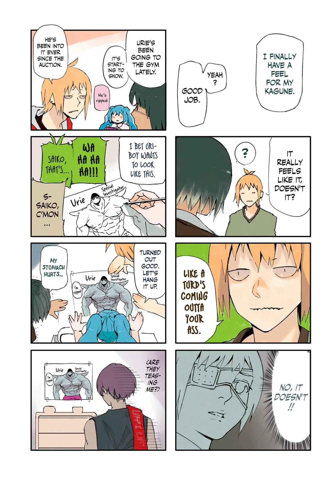 Tokyo Ghoul:re Chapter 31.6 Page 3