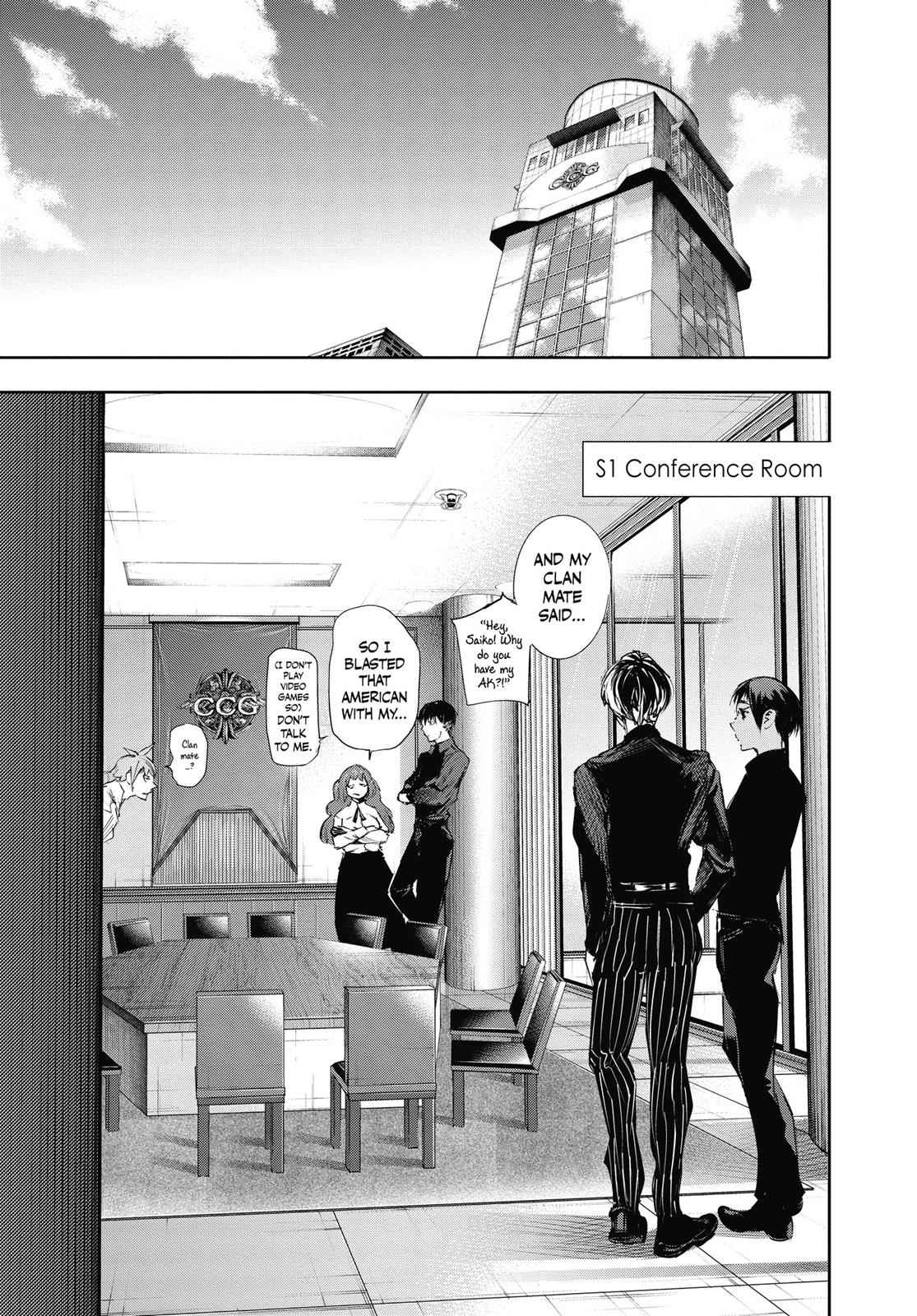 Tokyo Ghoul:re Chapter 34 Page 3