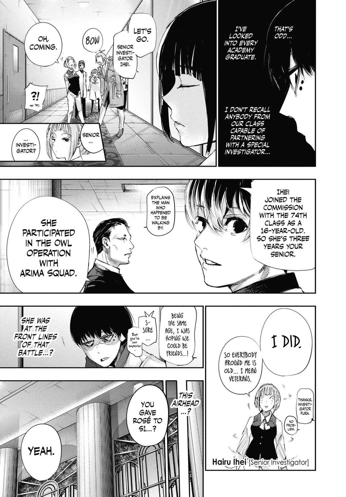 Tokyo Ghoul:re Chapter 34 Page 9