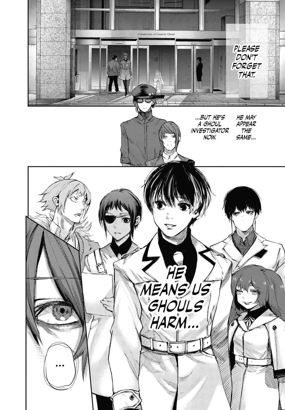 Tokyo Ghoul:re Chapter 38 Page 4