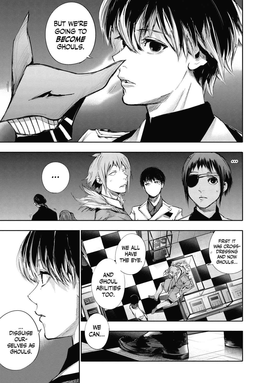 Tokyo Ghoul:re Chapter 38 Page 9
