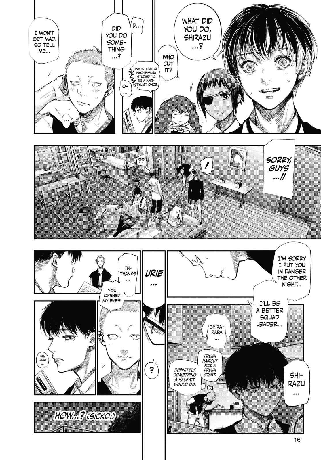 Tokyo Ghoul:re Chapter 42 Page 17