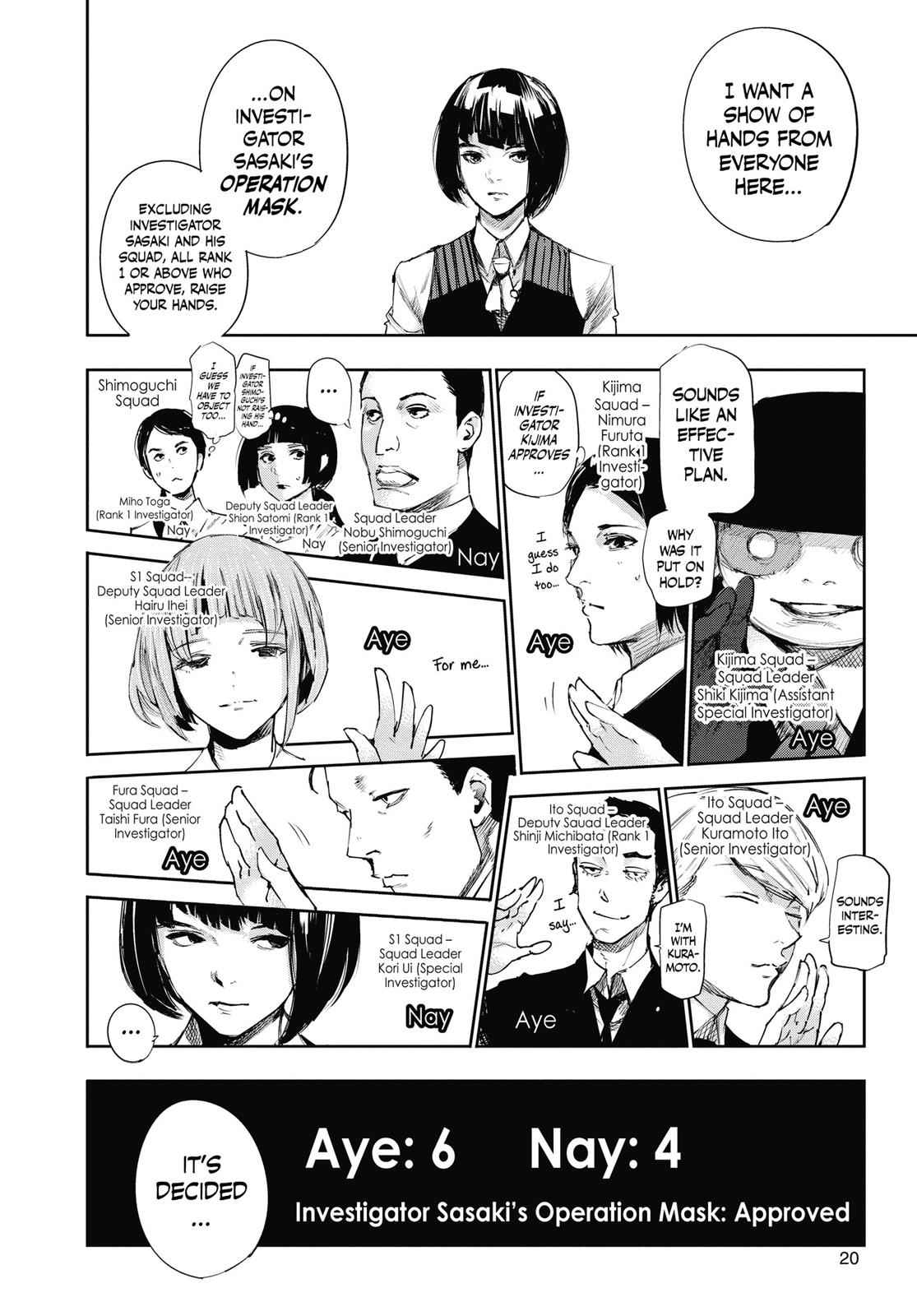 Tokyo Ghoul:re Chapter 42 Page 21