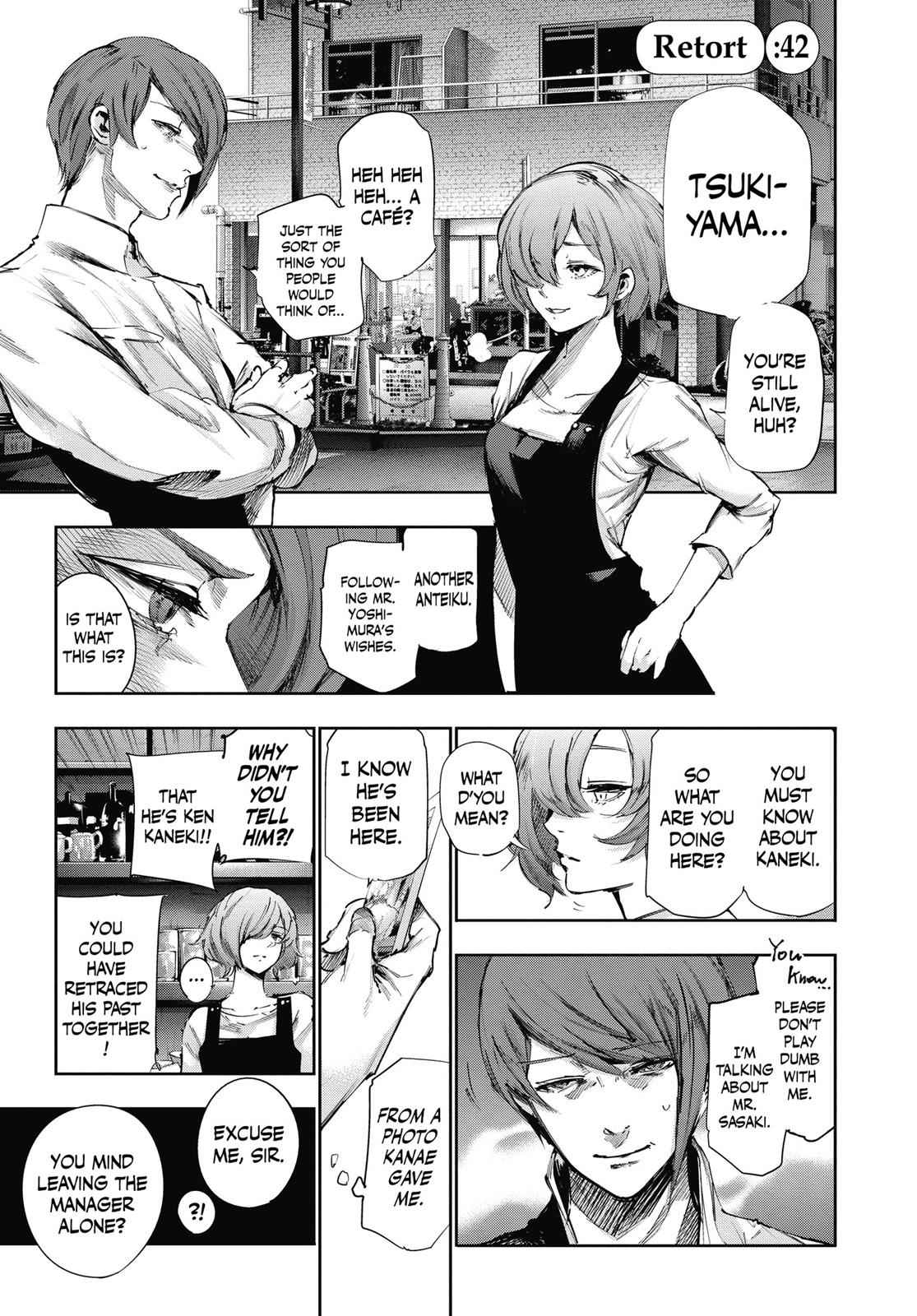 Tokyo Ghoul:re Chapter 42 Page 6
