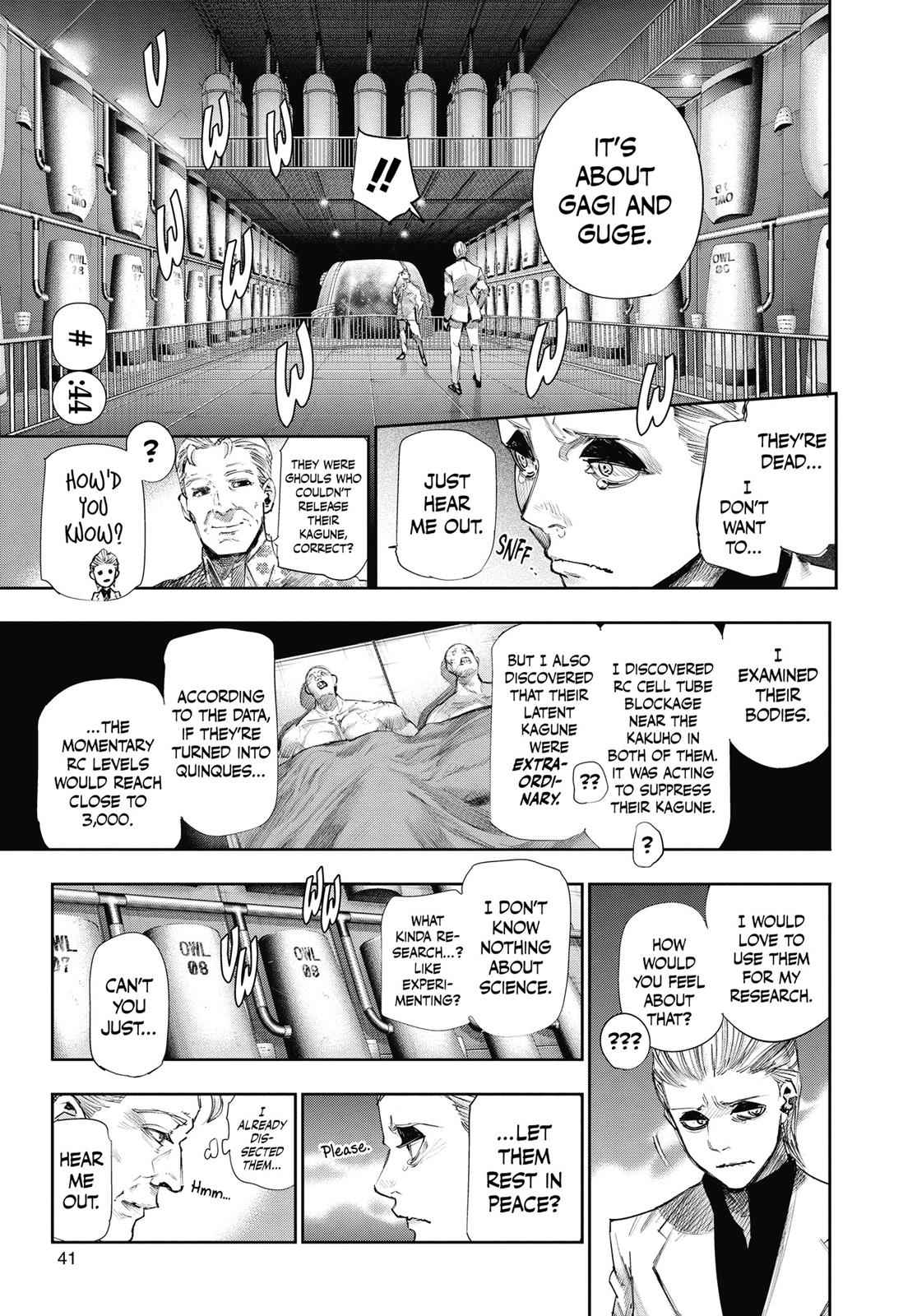 Tokyo Ghoul:re Chapter 44 Page 1