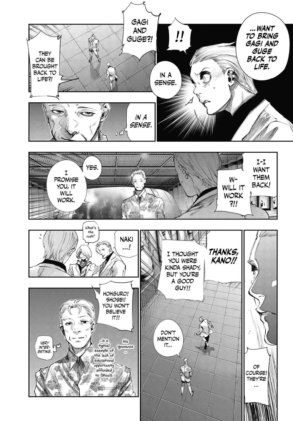 Tokyo Ghoul:re Chapter 44 Page 4
