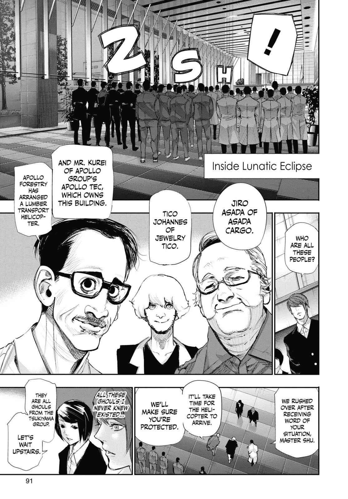 Tokyo Ghoul:re Chapter 46 Page 11
