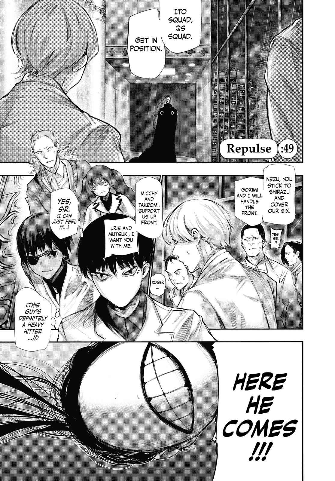 Tokyo Ghoul:re Chapter 49 Page 1