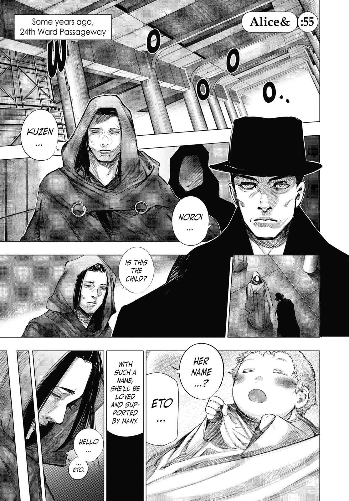 Tokyo Ghoul:re Chapter 55 Page 2