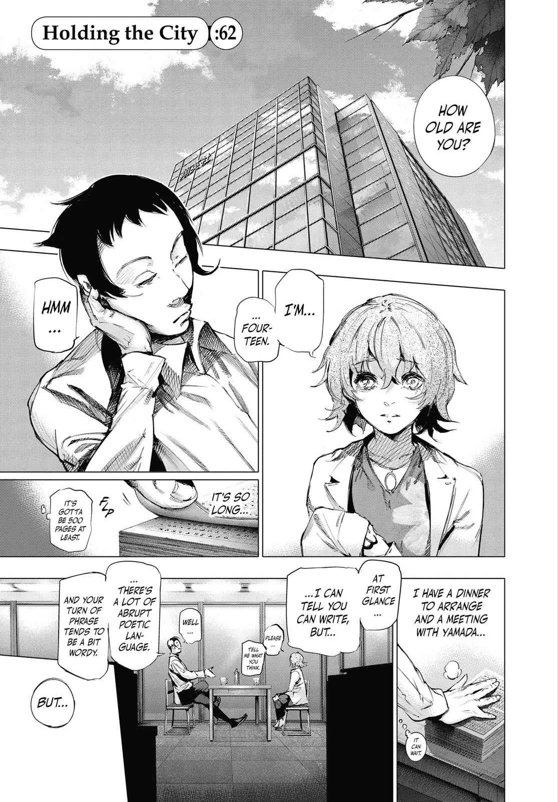 Tokyo Ghoul:re Chapter 62 Page 2