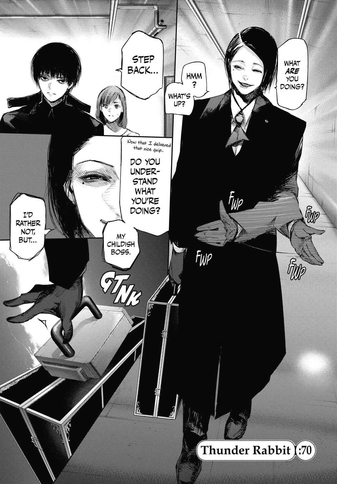 Tokyo Ghoul:re Chapter 70 Page 1