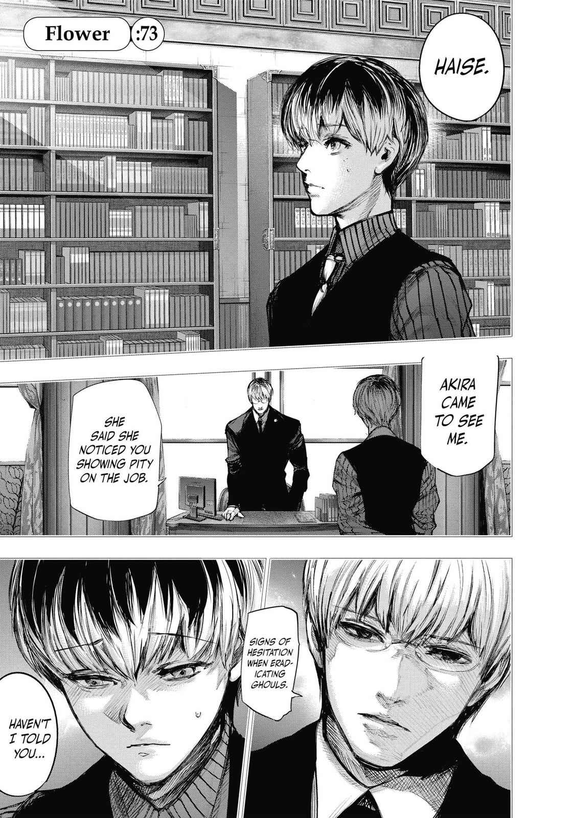 Tokyo Ghoul:re Chapter 73 Page 1