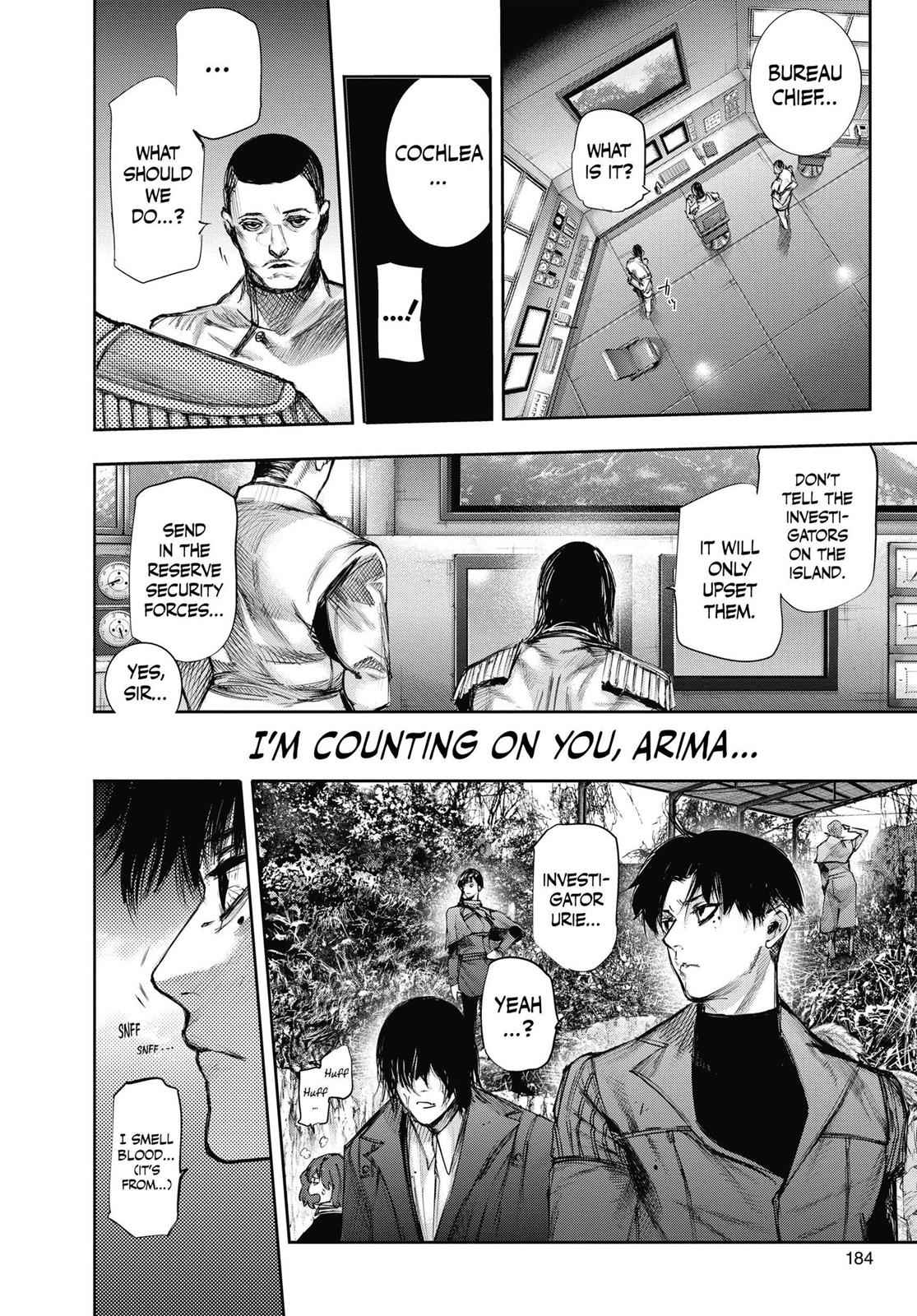 Tokyo Ghoul:re Chapter 73 Page 8