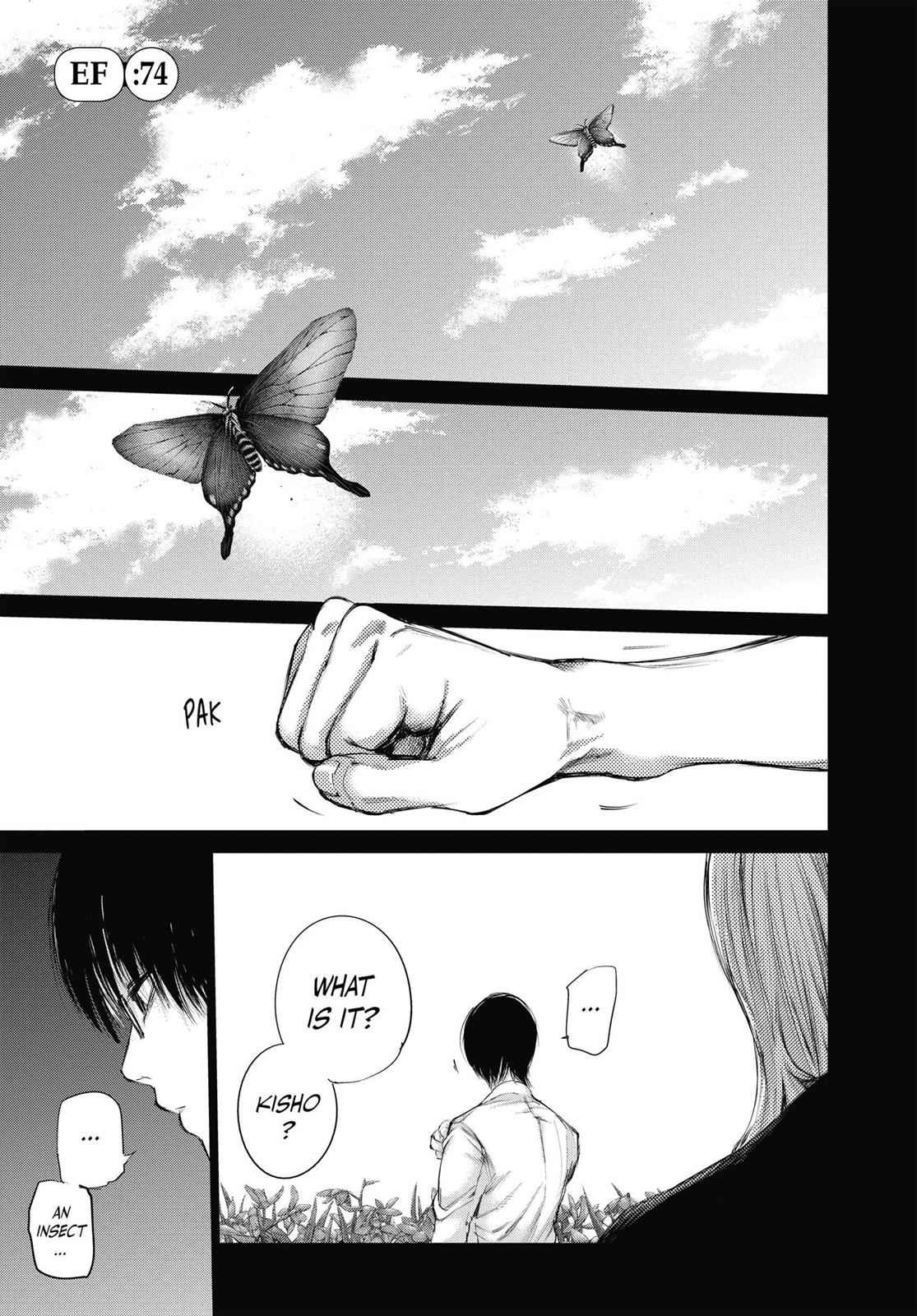 Tokyo Ghoul:re Chapter 74 Page 1
