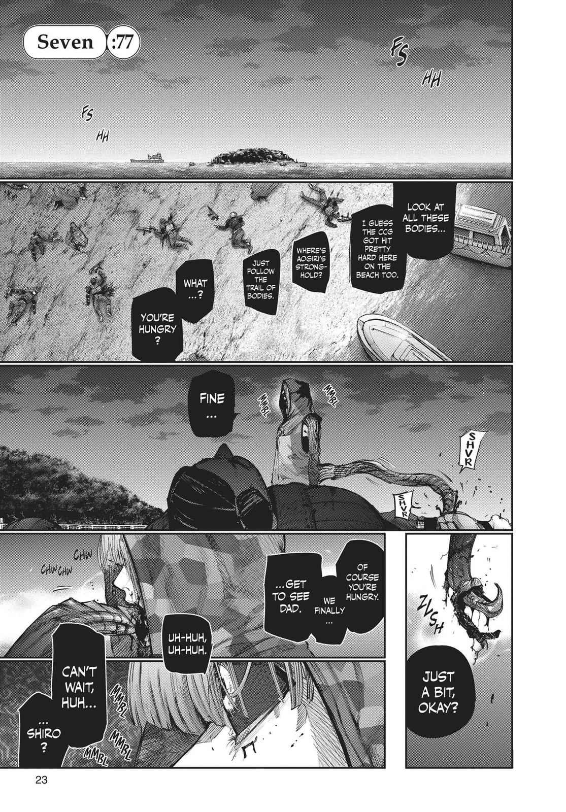 Tokyo Ghoul:re Chapter 77 Page 1