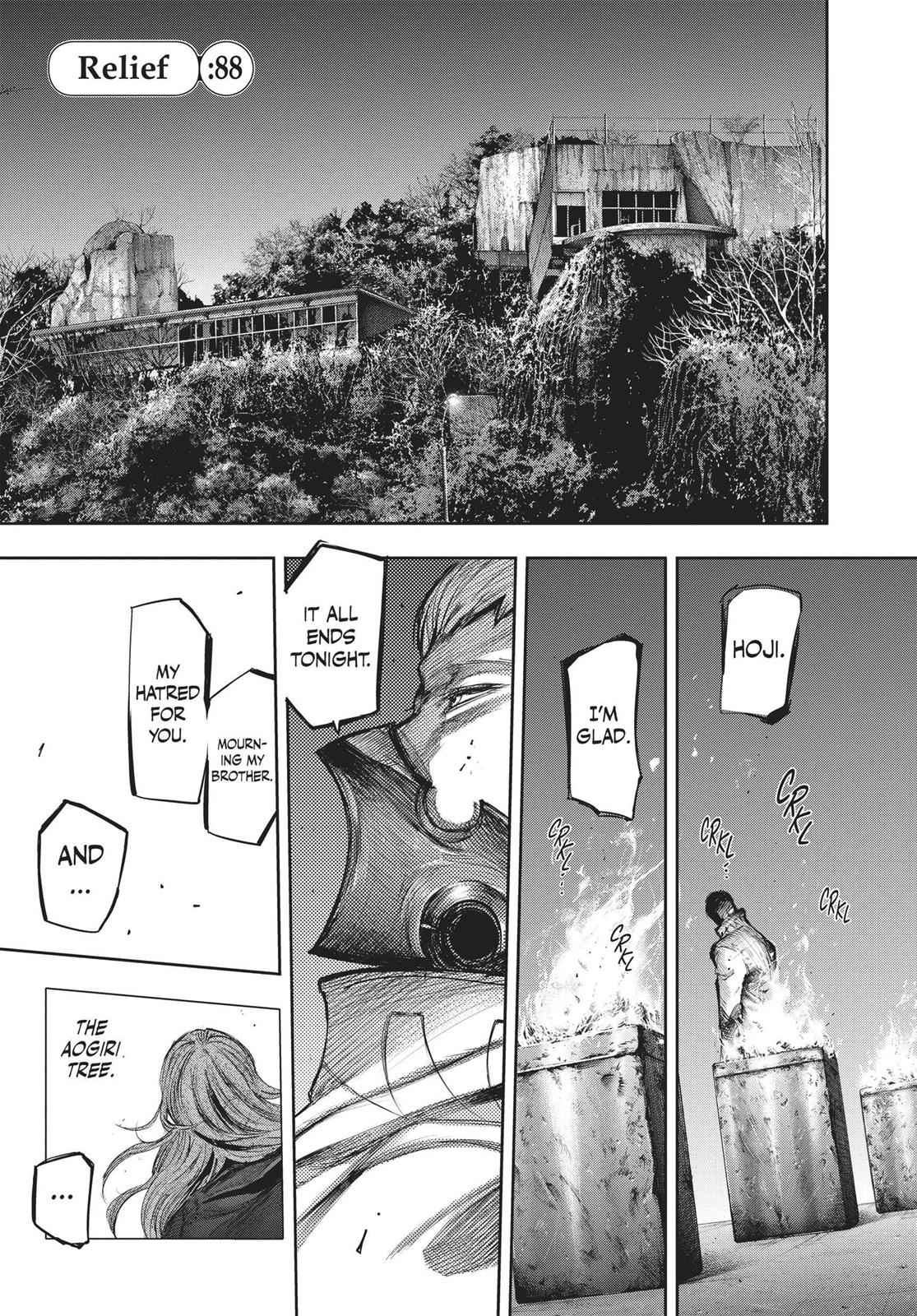 Tokyo Ghoul:re Chapter 88 Page 1