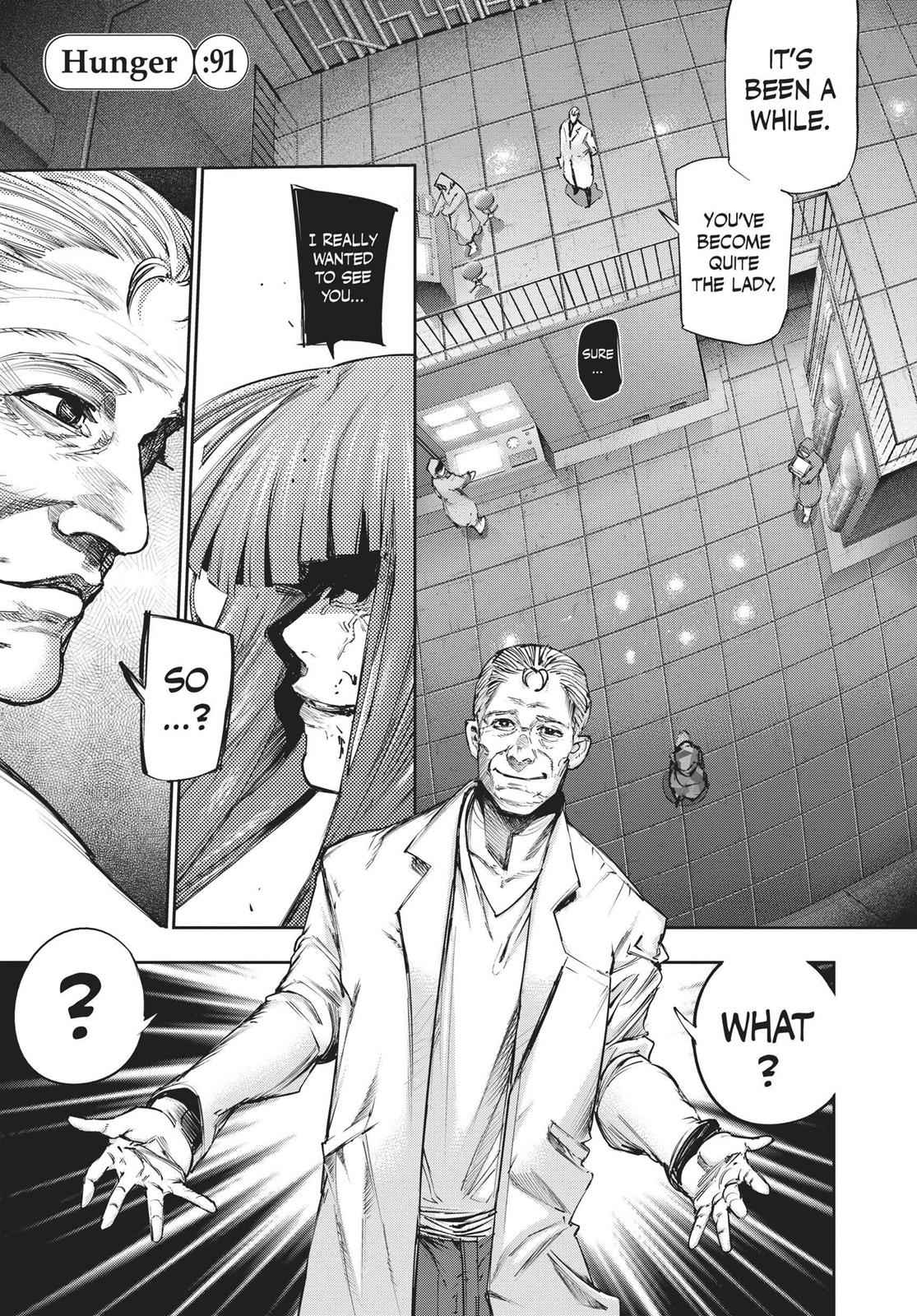 Tokyo Ghoul:re Chapter 91 Page 1