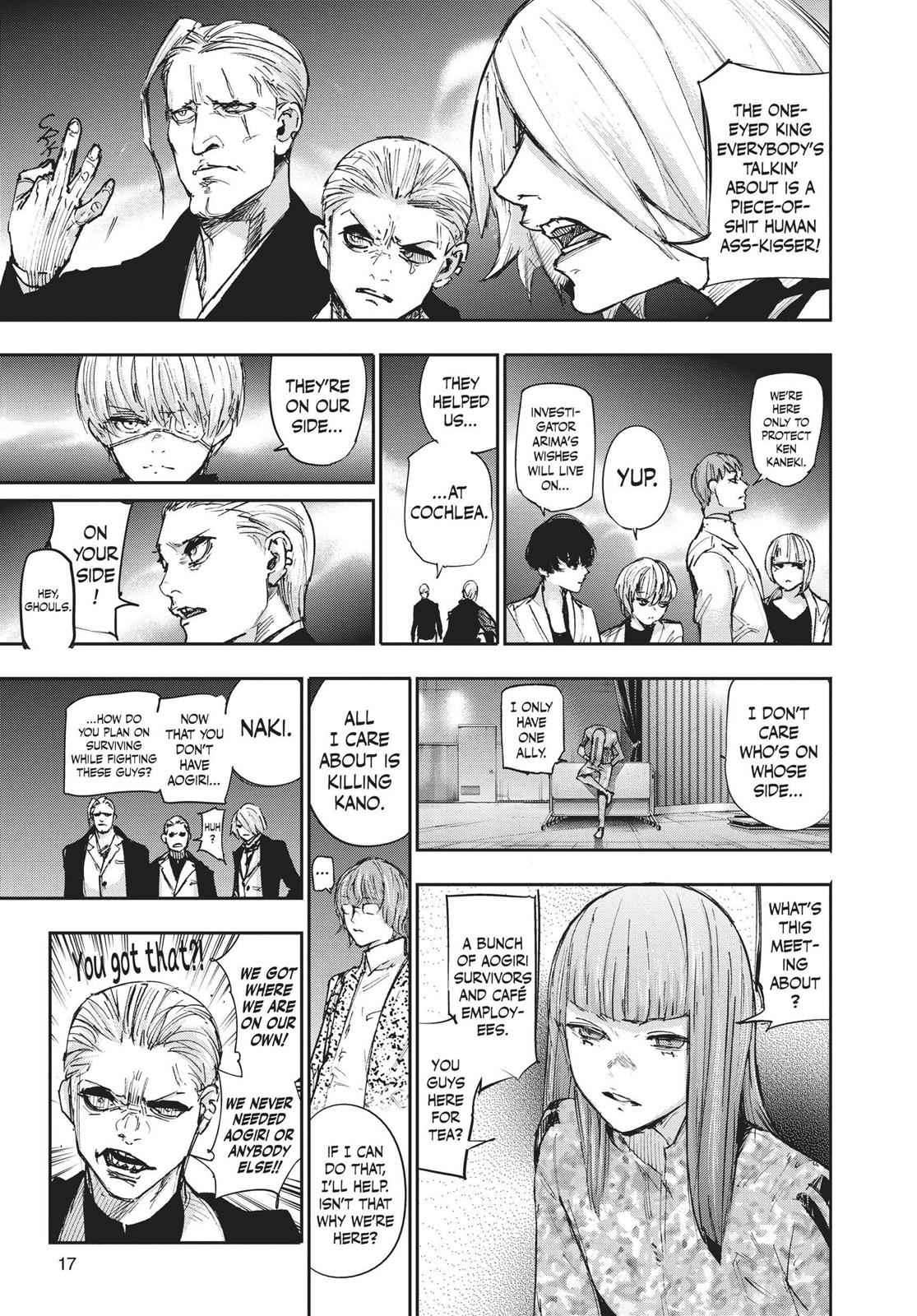 Tokyo Ghoul:re Chapter 99 Page 18