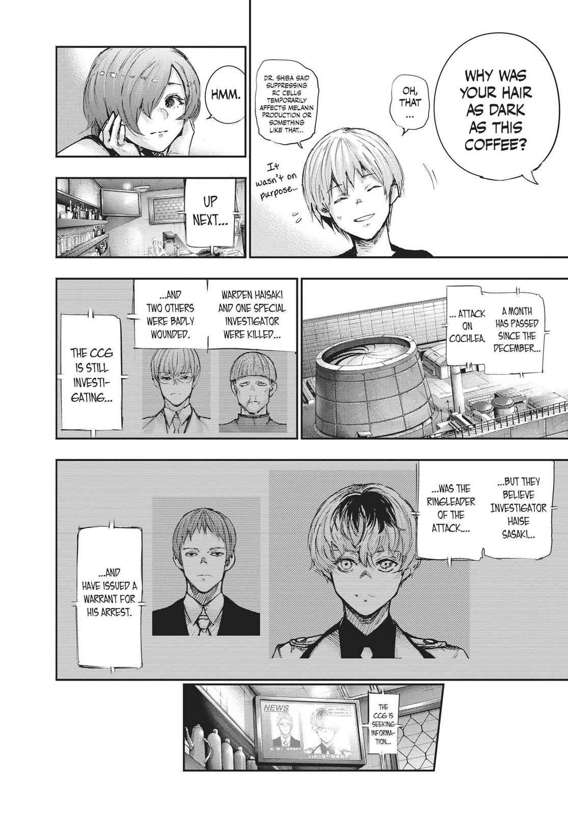 Tokyo Ghoul:re Chapter 99 Page 9