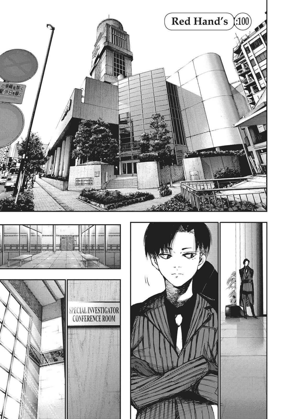 Tokyo Ghoul:re Chapter 100 Page 1