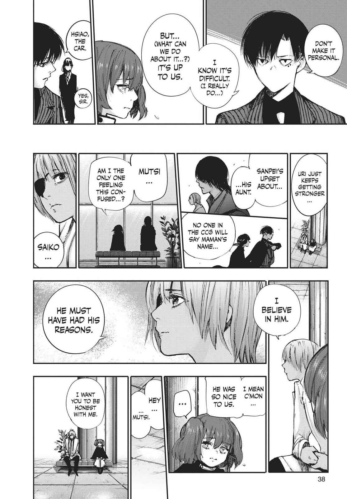Tokyo Ghoul:re Chapter 100 Page 14