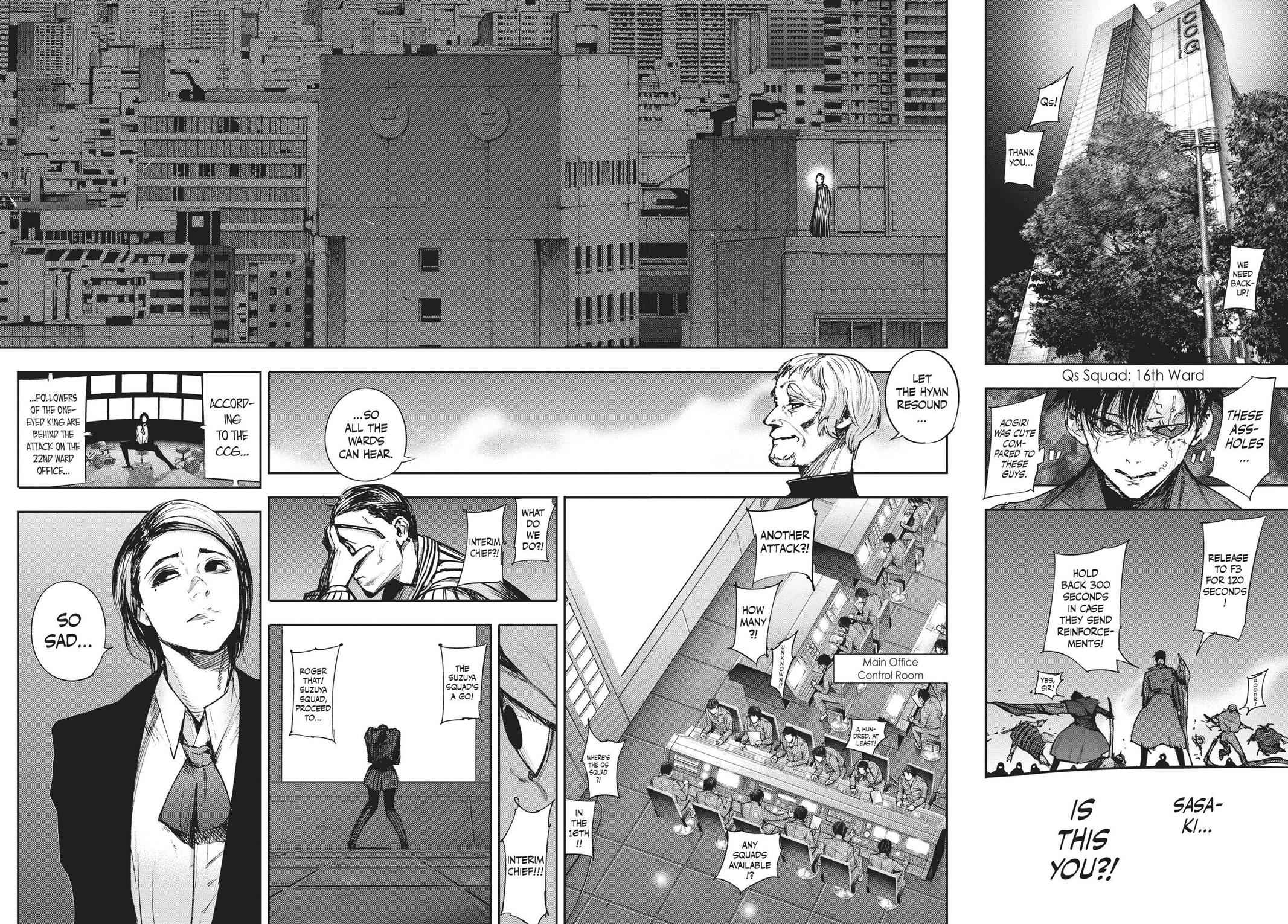 Tokyo Ghoul:re Chapter 101 Page 14