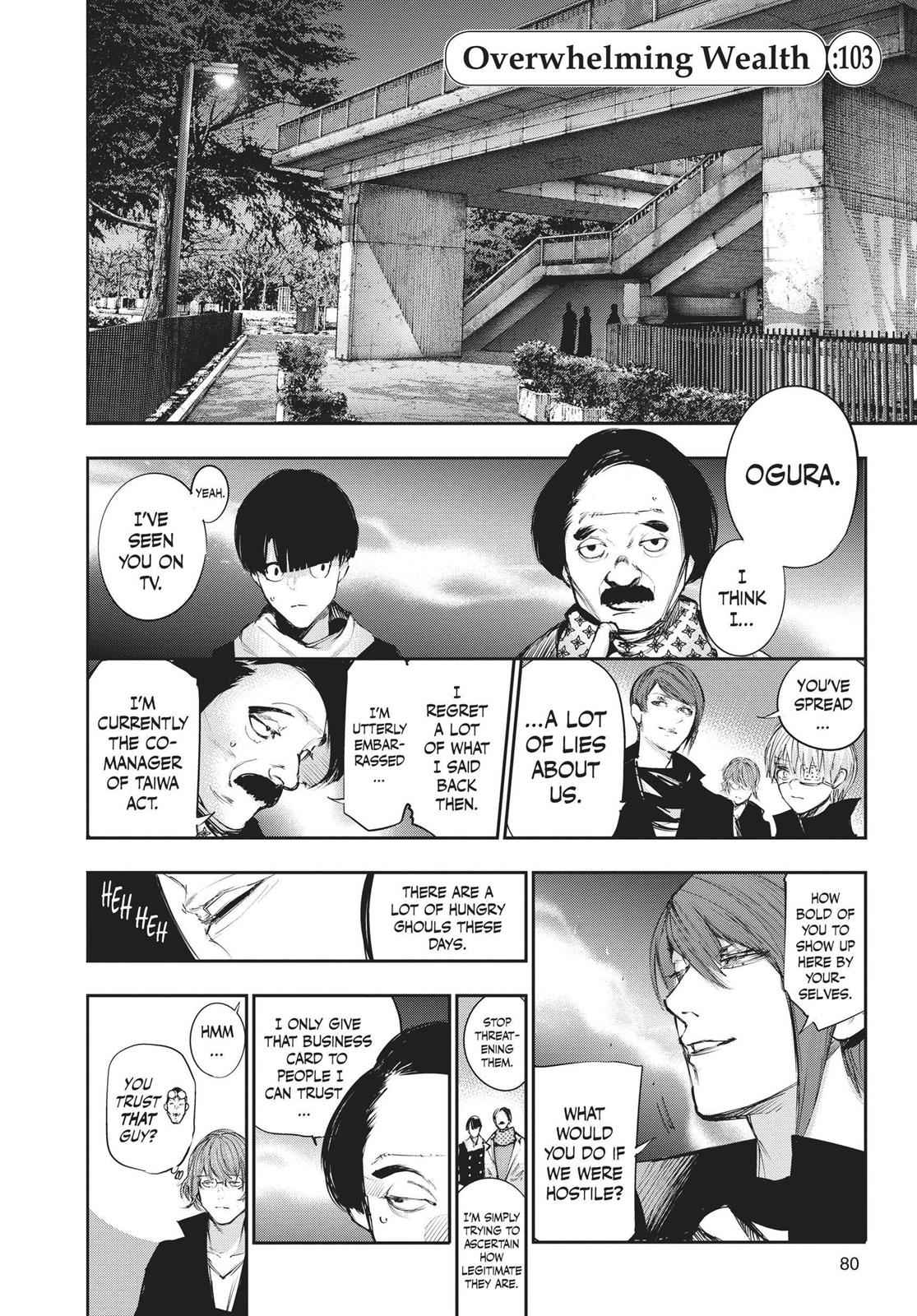 Tokyo Ghoul:re Chapter 103 Page 2