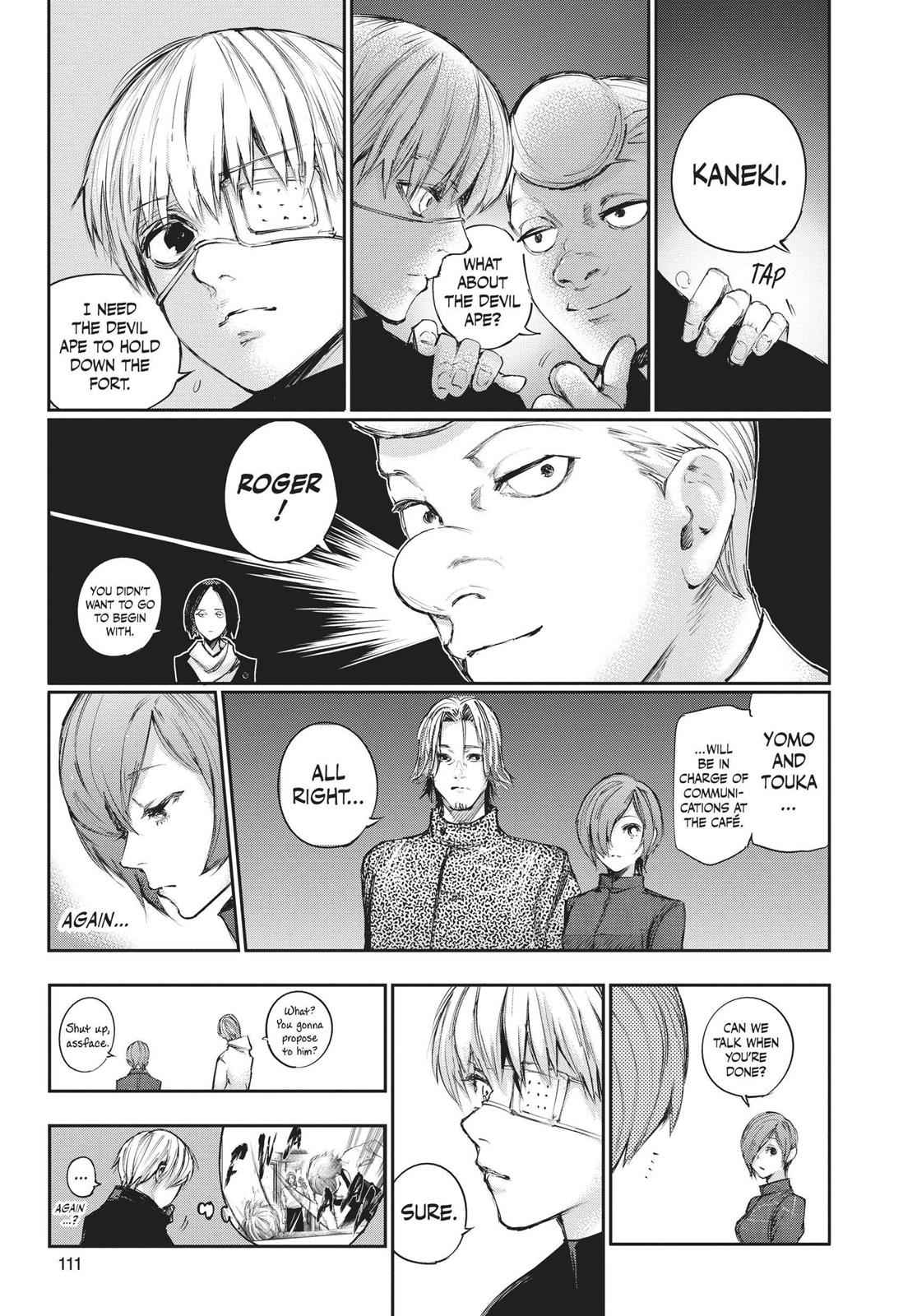 Tokyo Ghoul:re Chapter 104 Page 15