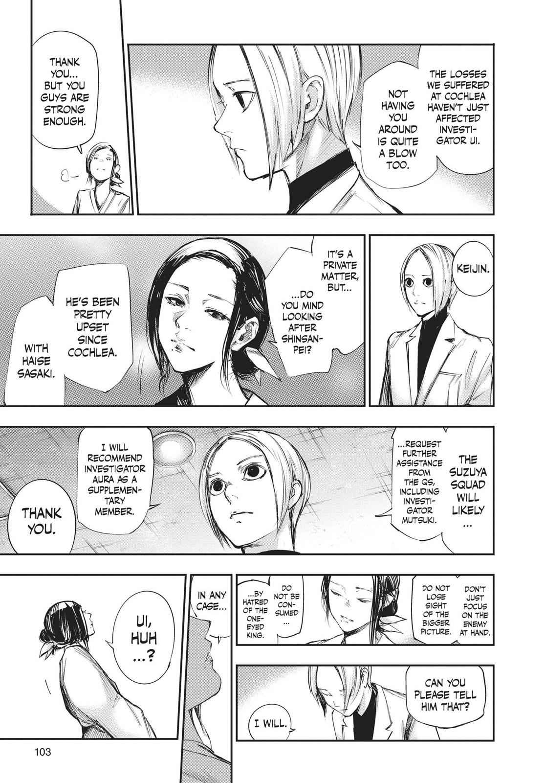 Tokyo Ghoul:re Chapter 104 Page 7