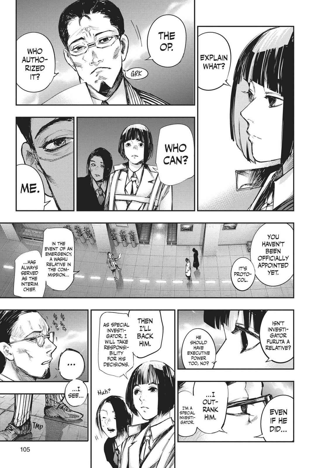 Tokyo Ghoul:re Chapter 104 Page 9
