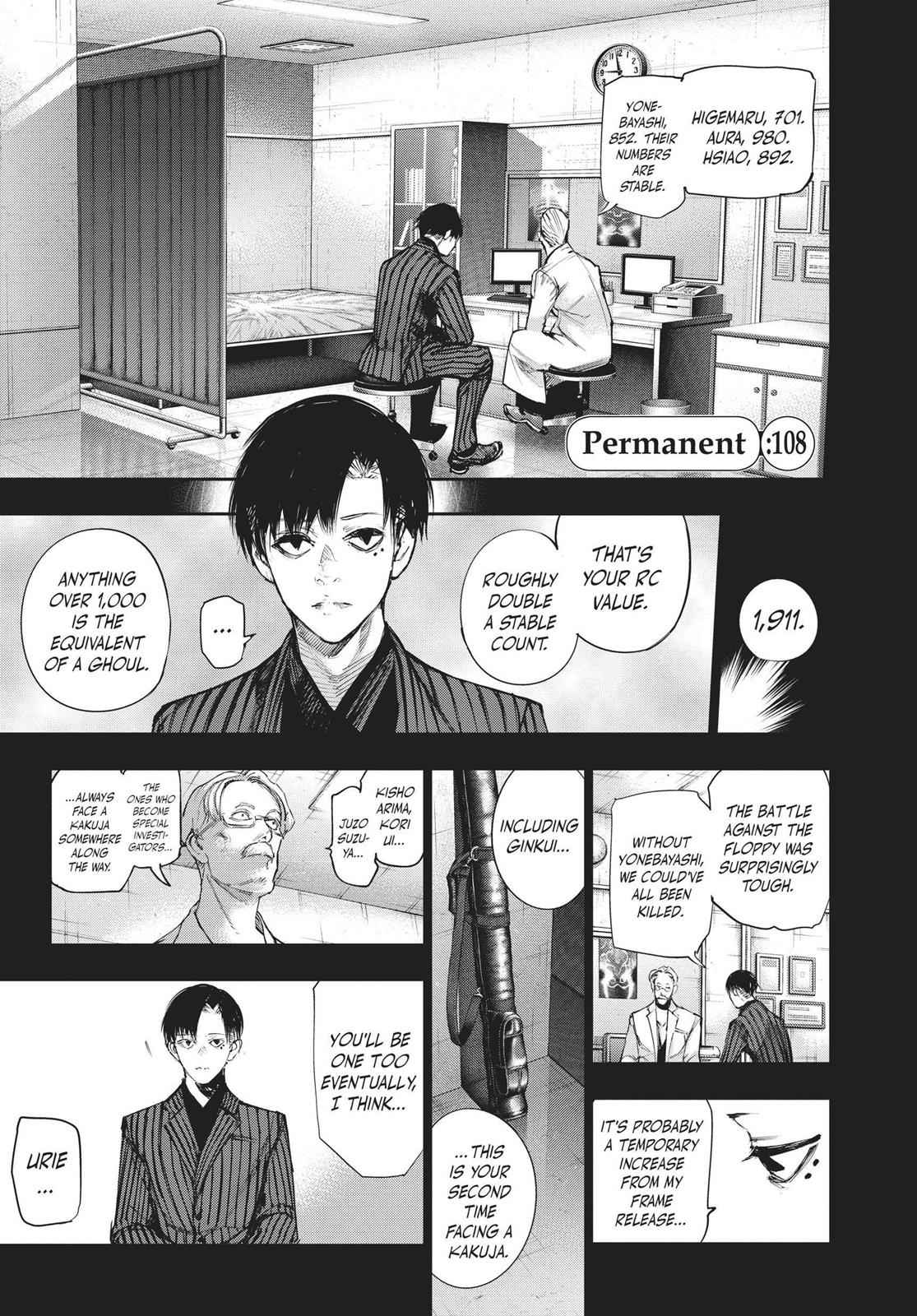 Tokyo Ghoul:re Chapter 108 Page 1