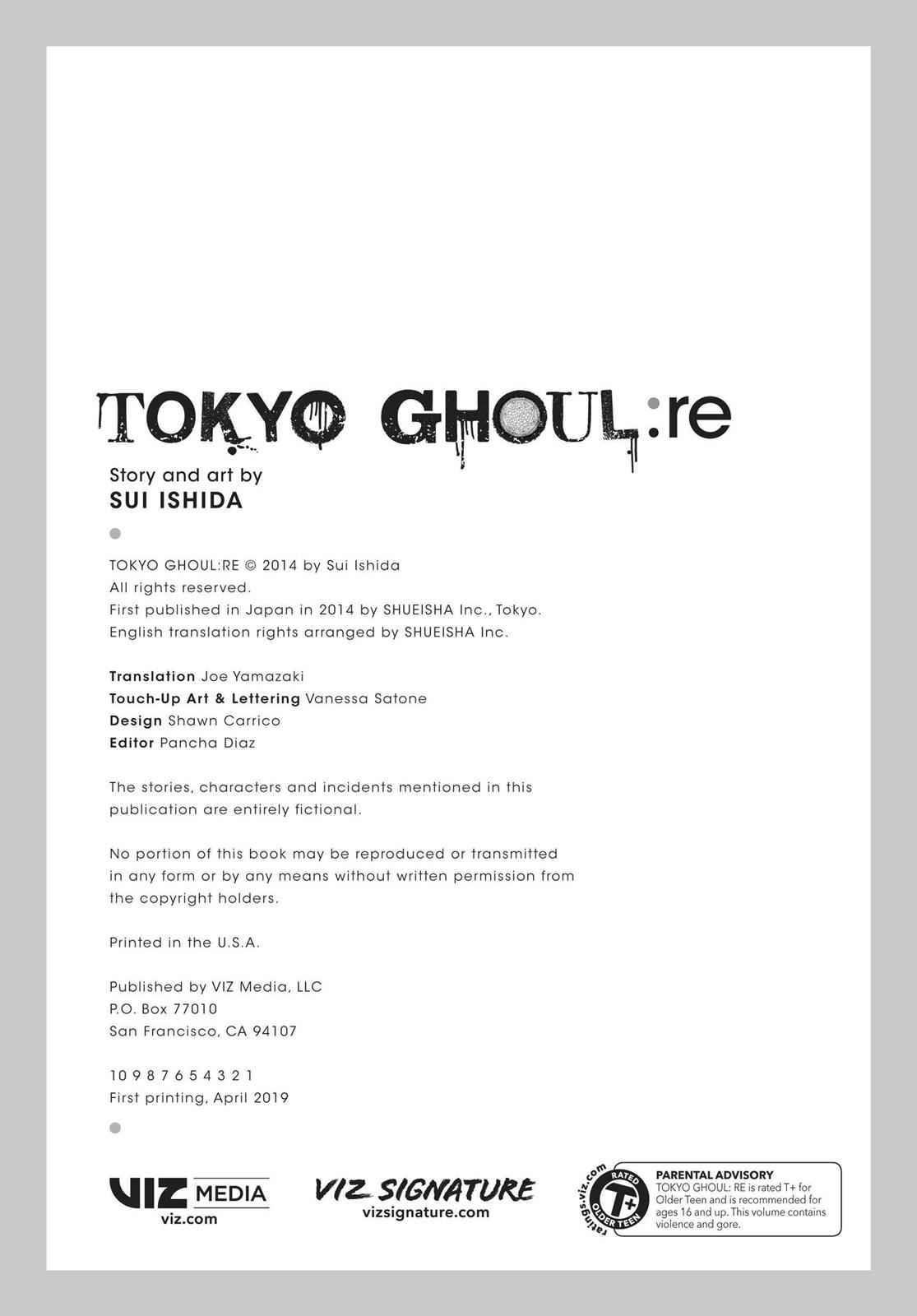 Tokyo Ghoul:re Chapter 110 Page 29