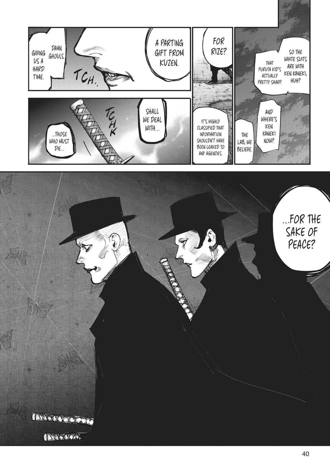 Tokyo Ghoul:re Chapter 112 Page 18