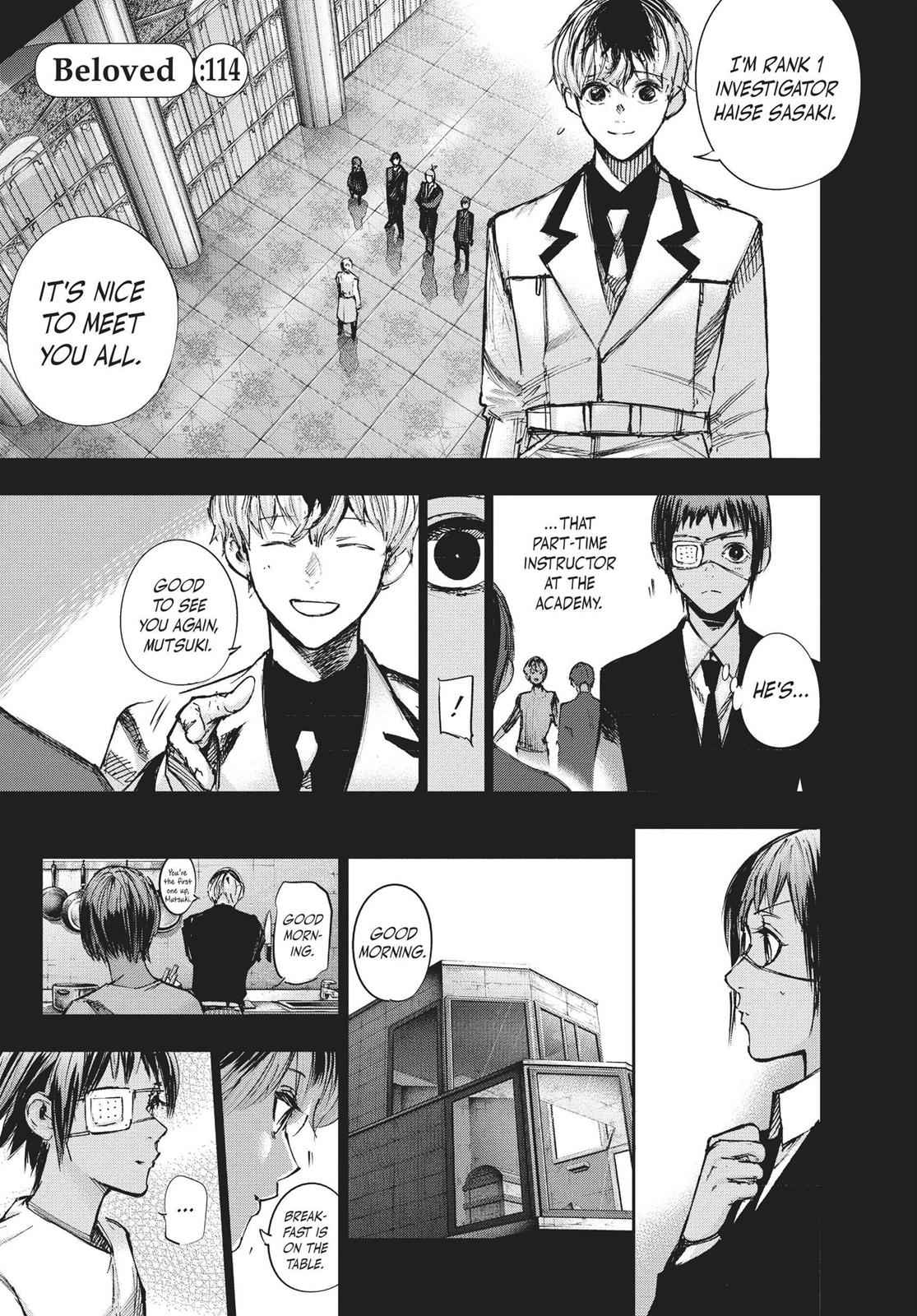 Tokyo Ghoul:re Chapter 114 Page 1