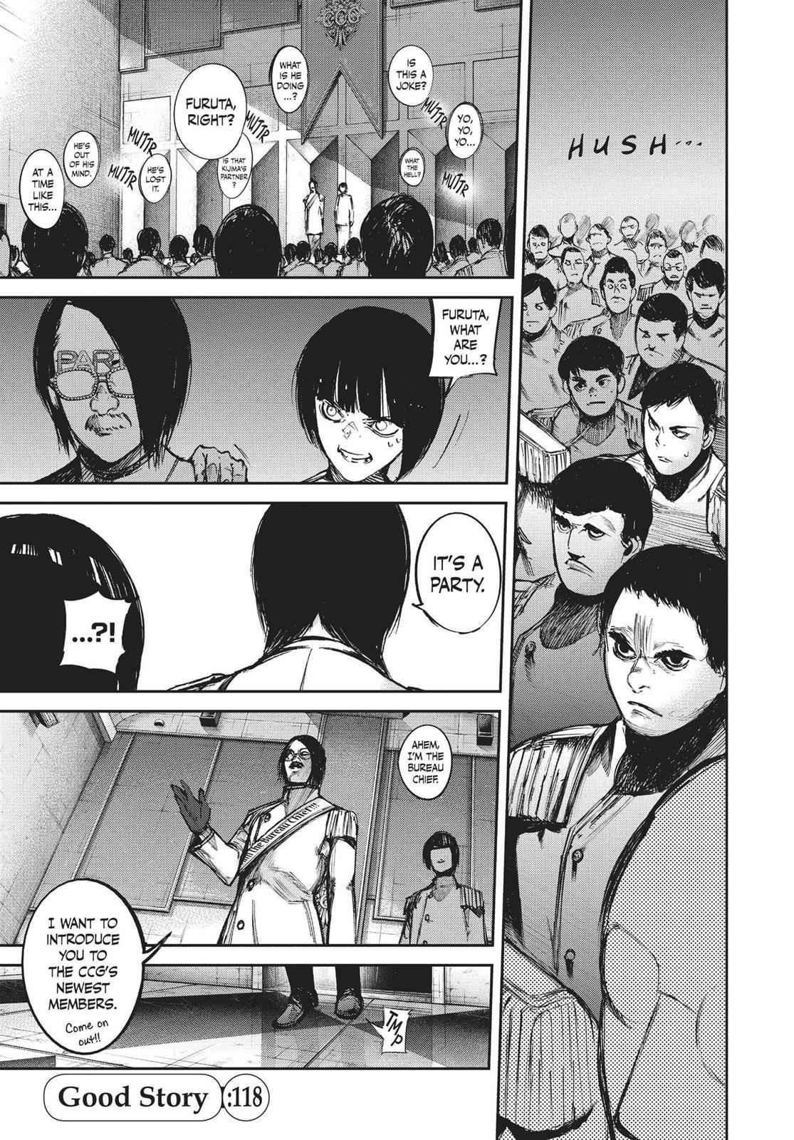 Tokyo Ghoul:re Chapter 118 Page 1