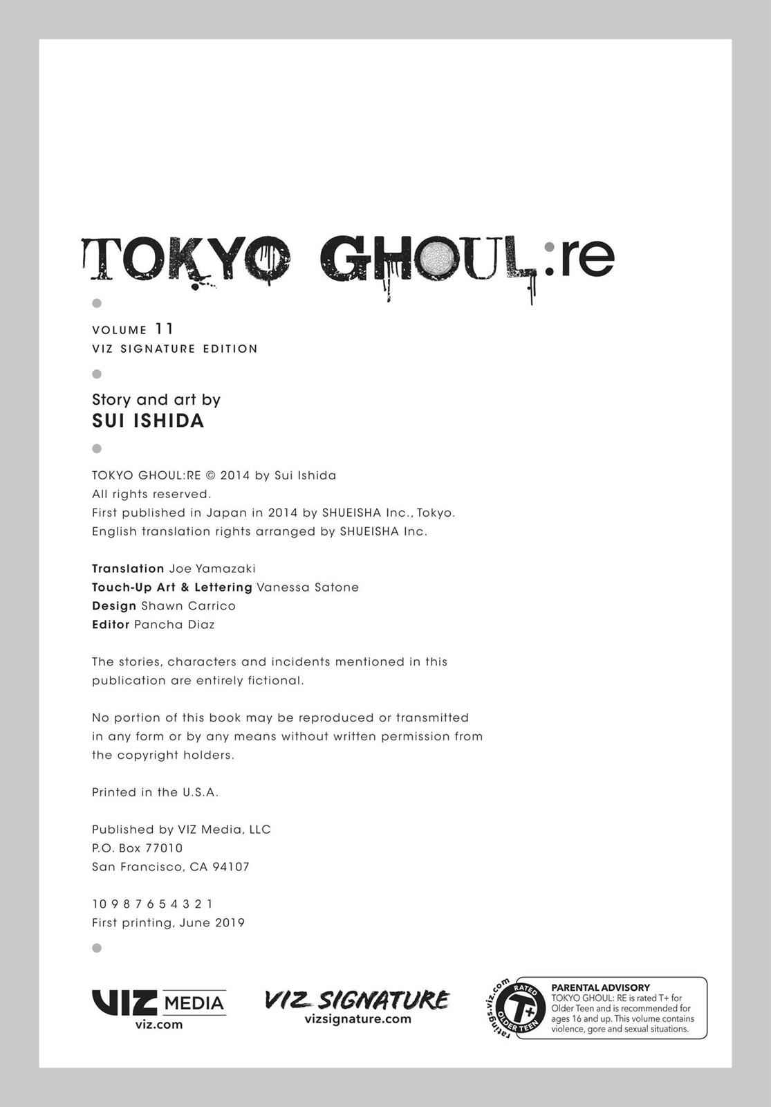 Tokyo Ghoul:re Chapter 122 Page 25