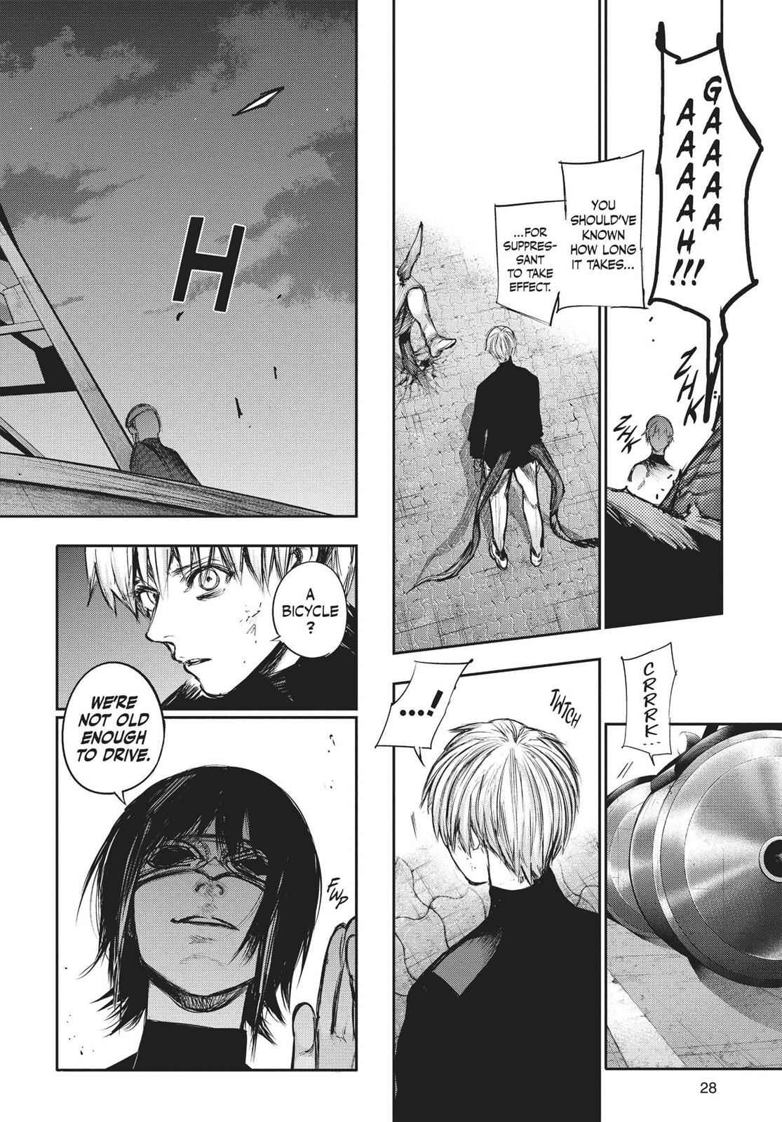 Tokyo Ghoul:re Chapter 124 Page 6