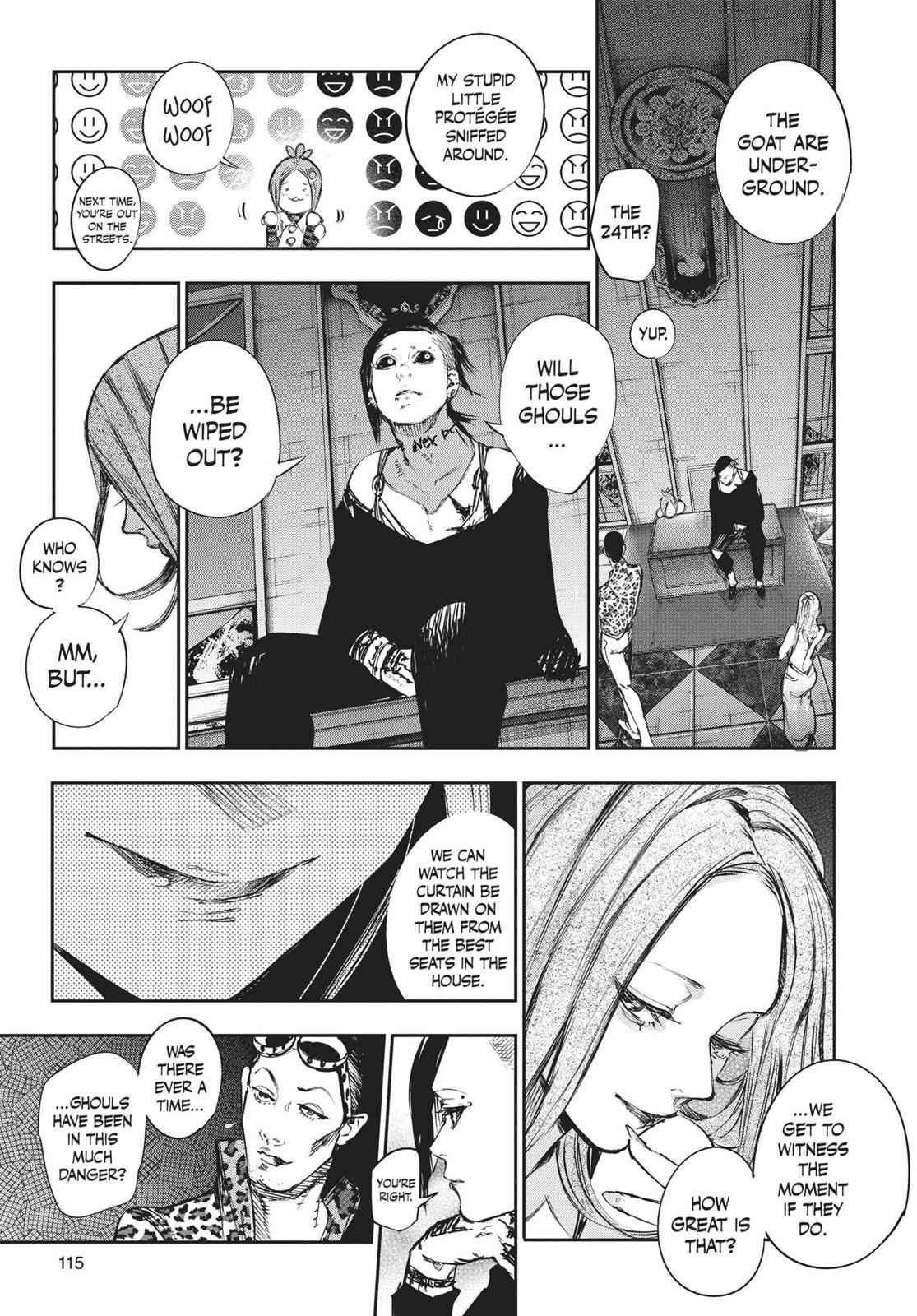 Tokyo Ghoul:re Chapter 128 Page 15