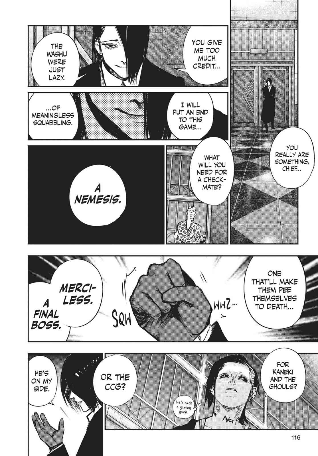 Tokyo Ghoul:re Chapter 128 Page 16