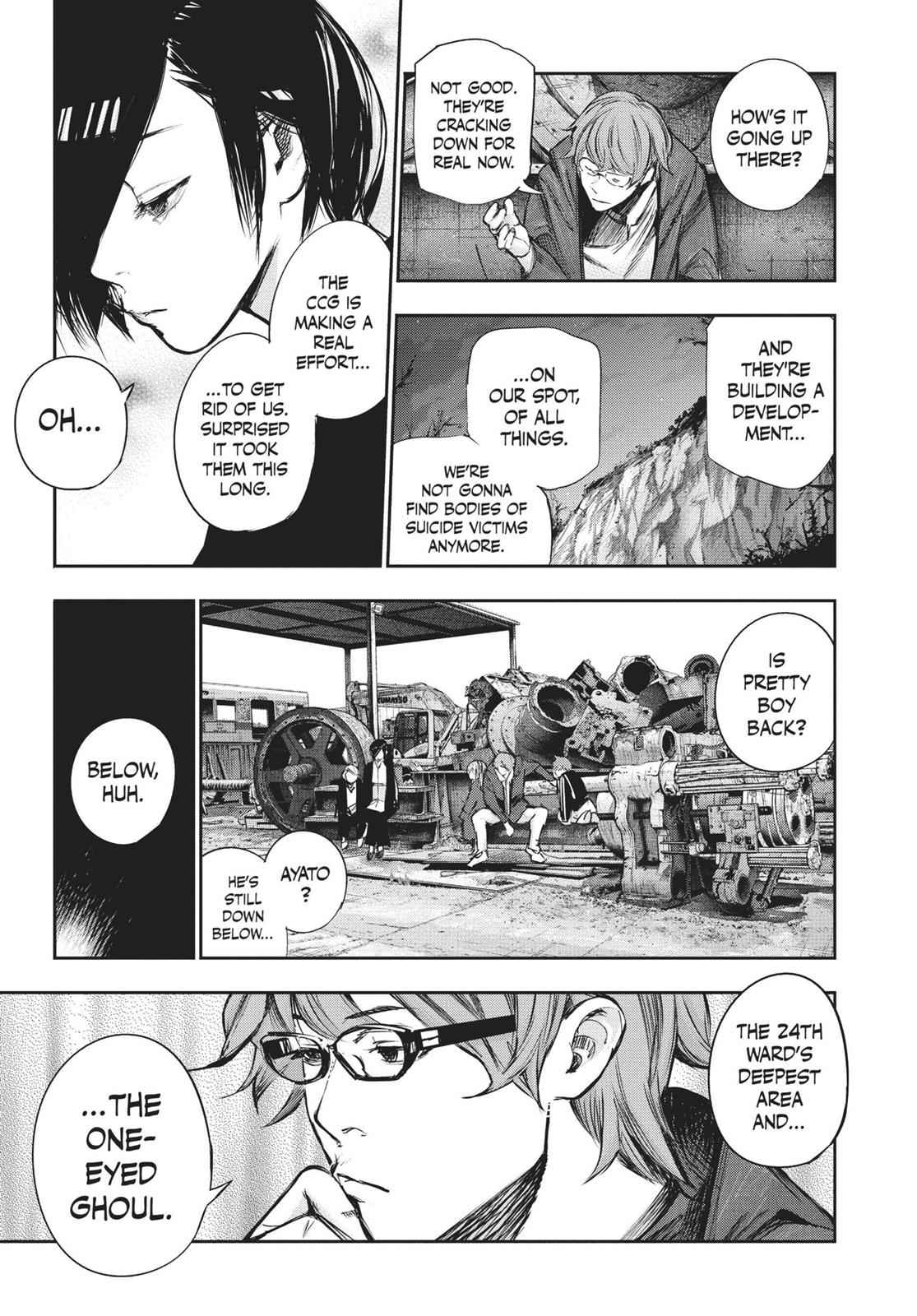 Tokyo Ghoul:re Chapter 128 Page 9
