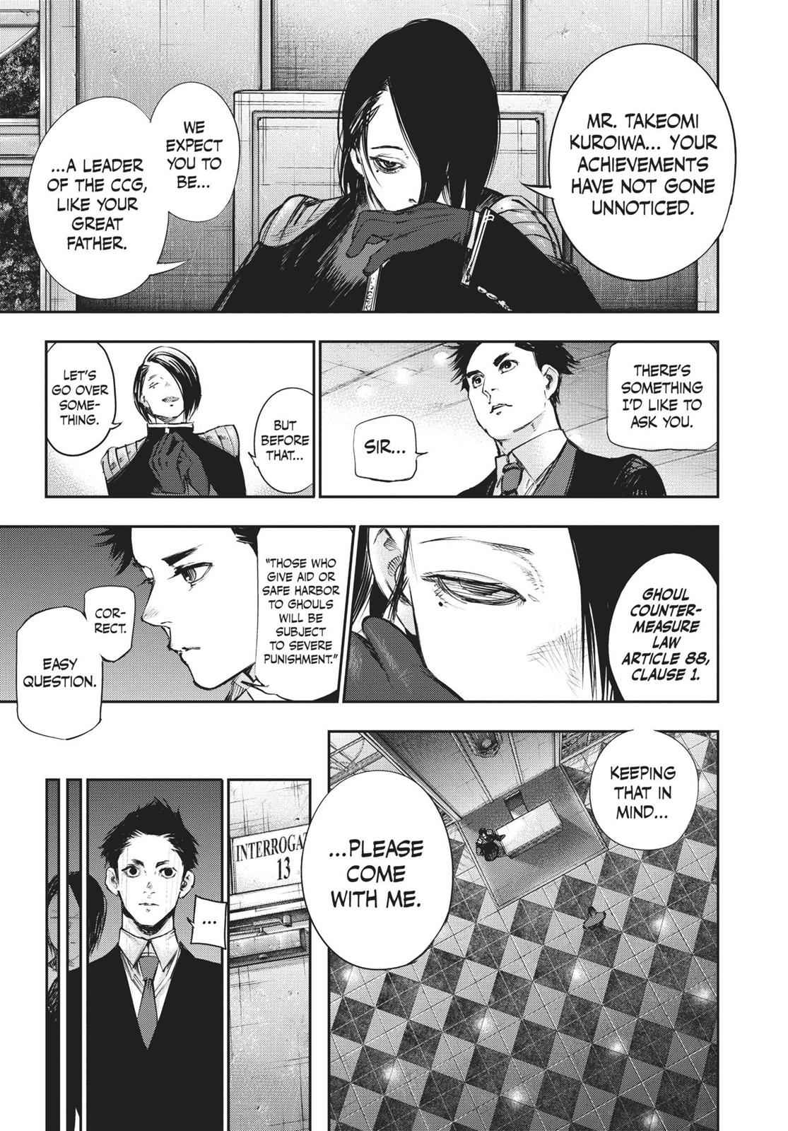 Tokyo Ghoul:re Chapter 129 Page 5
