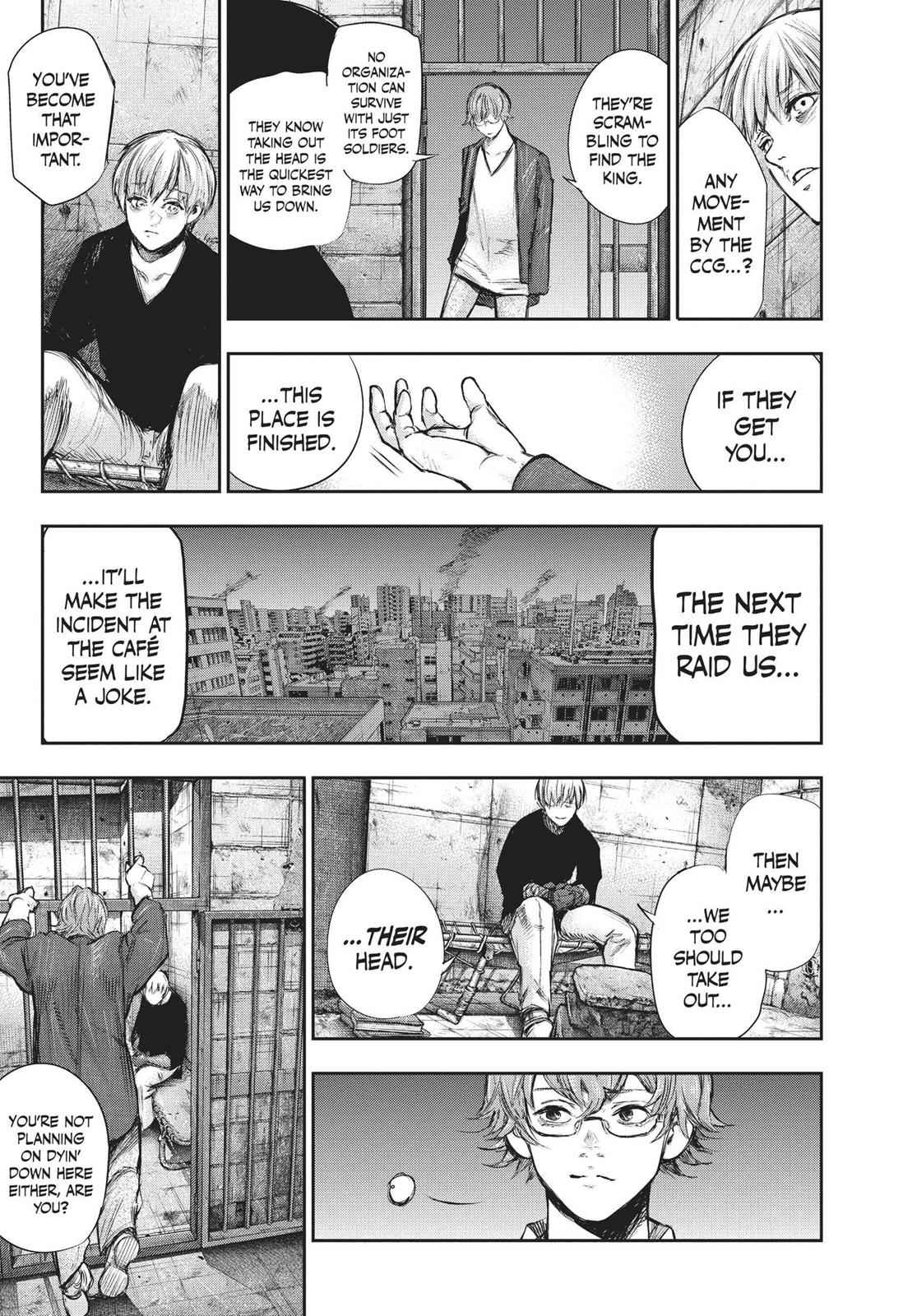 Tokyo Ghoul:re Chapter 130 Page 5
