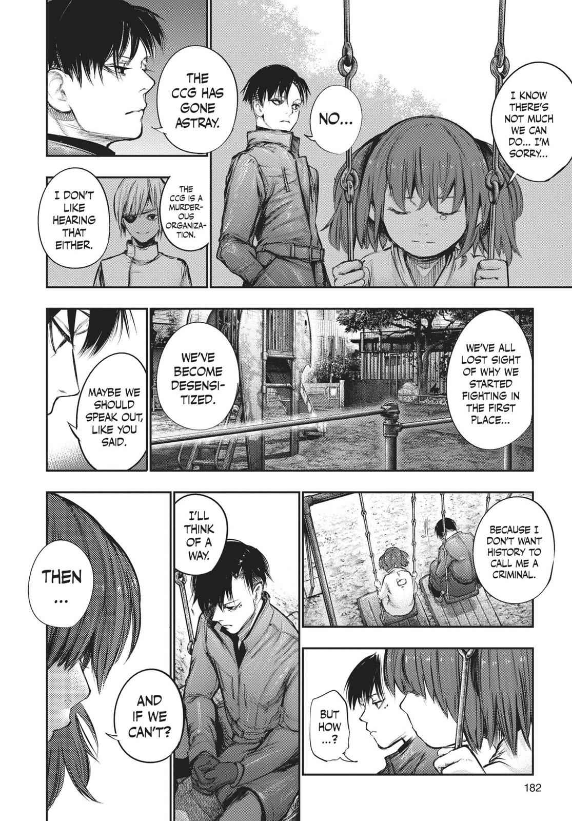Tokyo Ghoul:re Chapter 132 Page 10