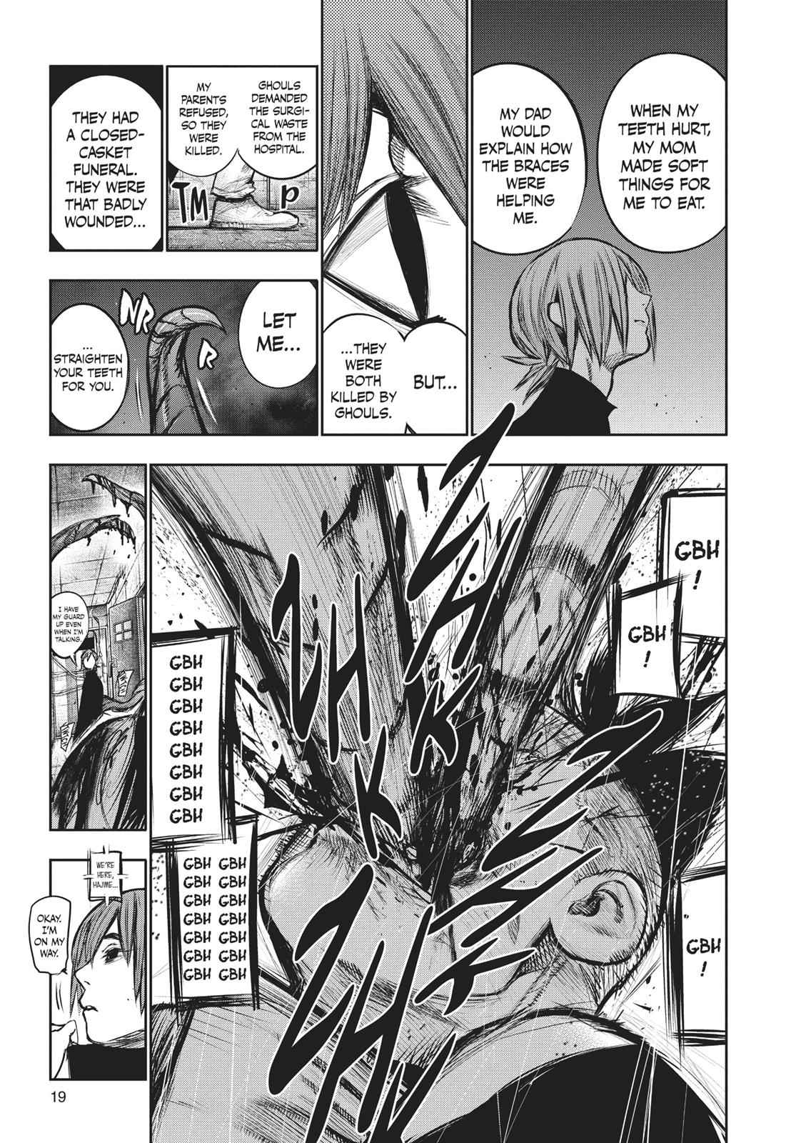Tokyo Ghoul:re Chapter 133 Page 20