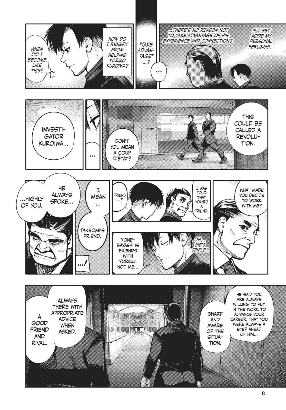 Tokyo Ghoul:re Chapter 133 Page 9